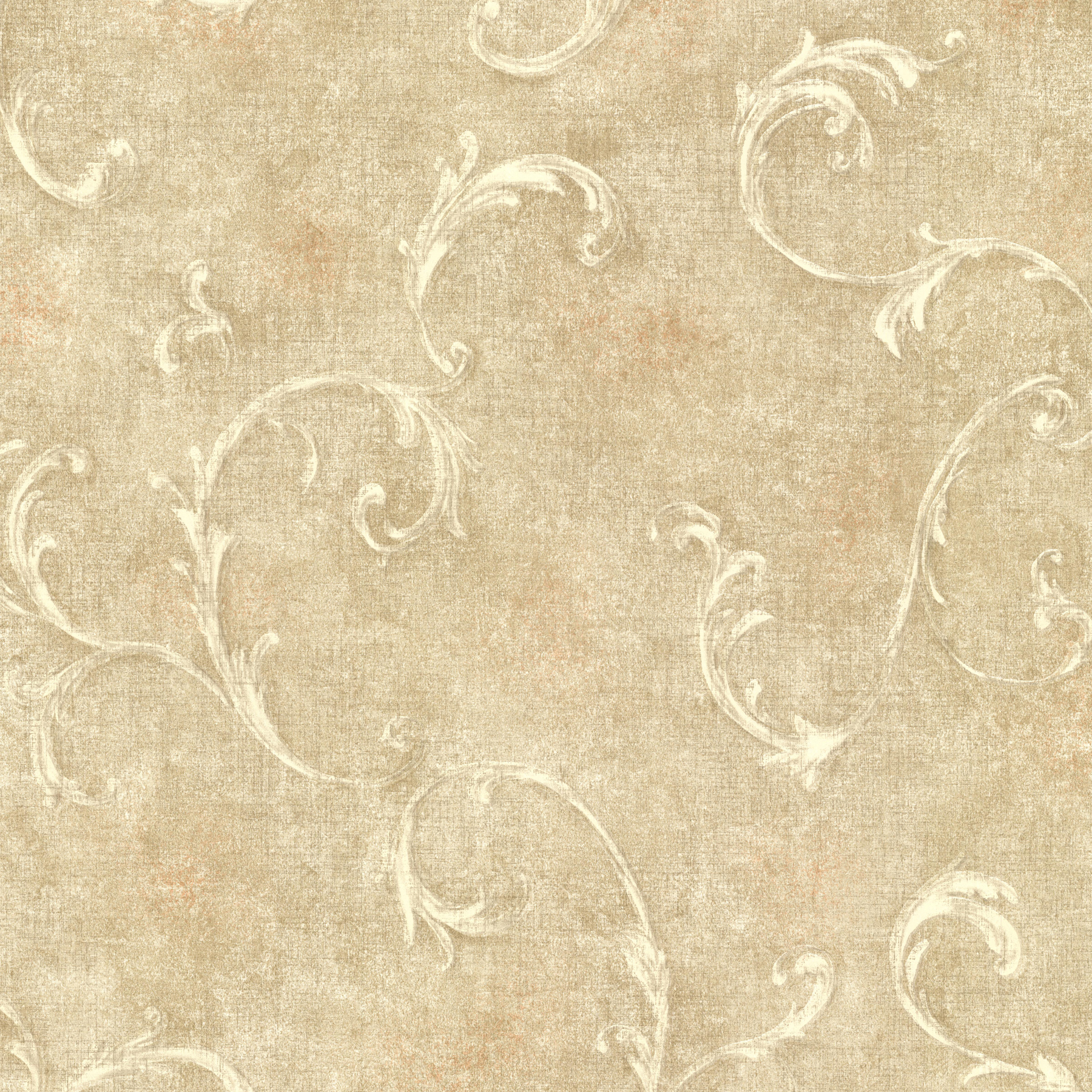 Picture of Bayley Gold Scroll Wallpaper