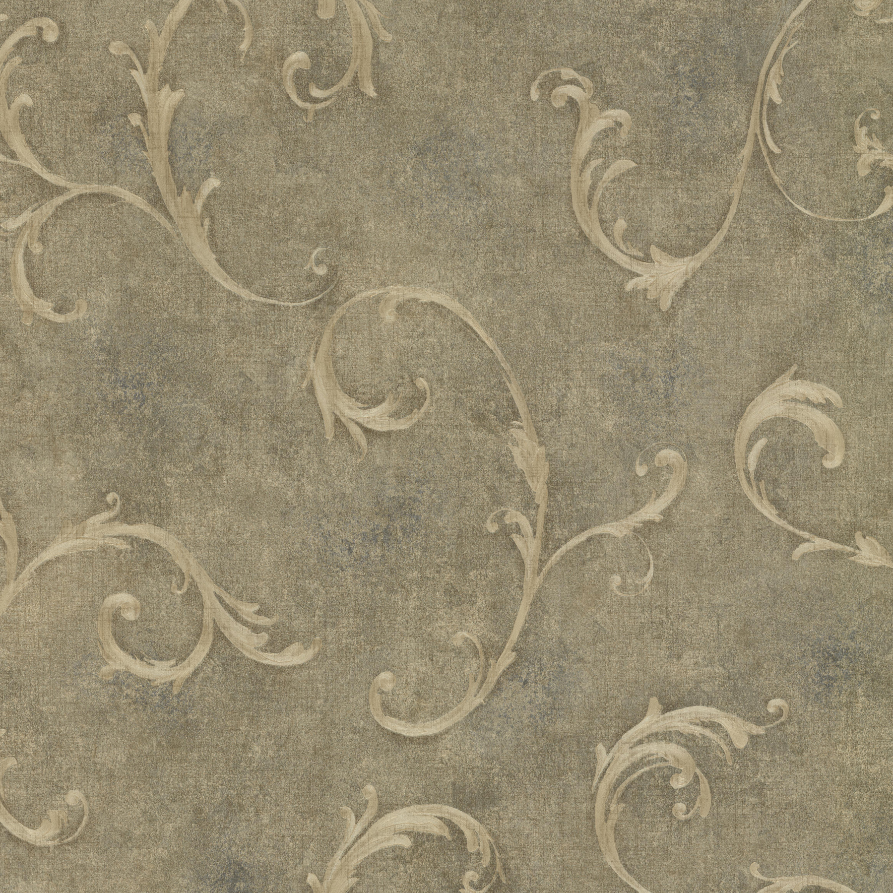 Picture of Bayley Moss Scroll Wallpaper