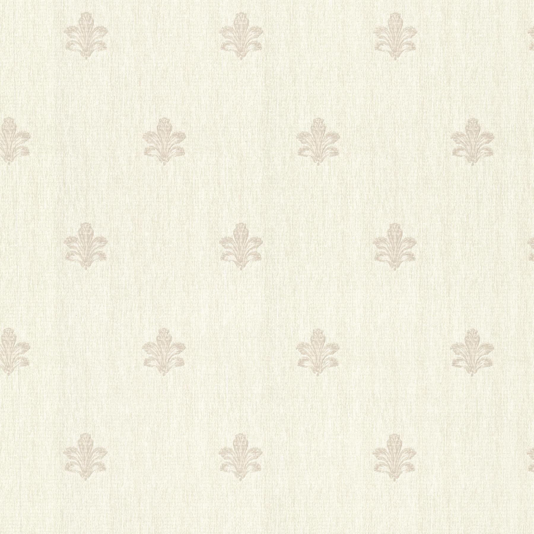 Picture of Bolton Cream Fleur De Lis Wallpaper