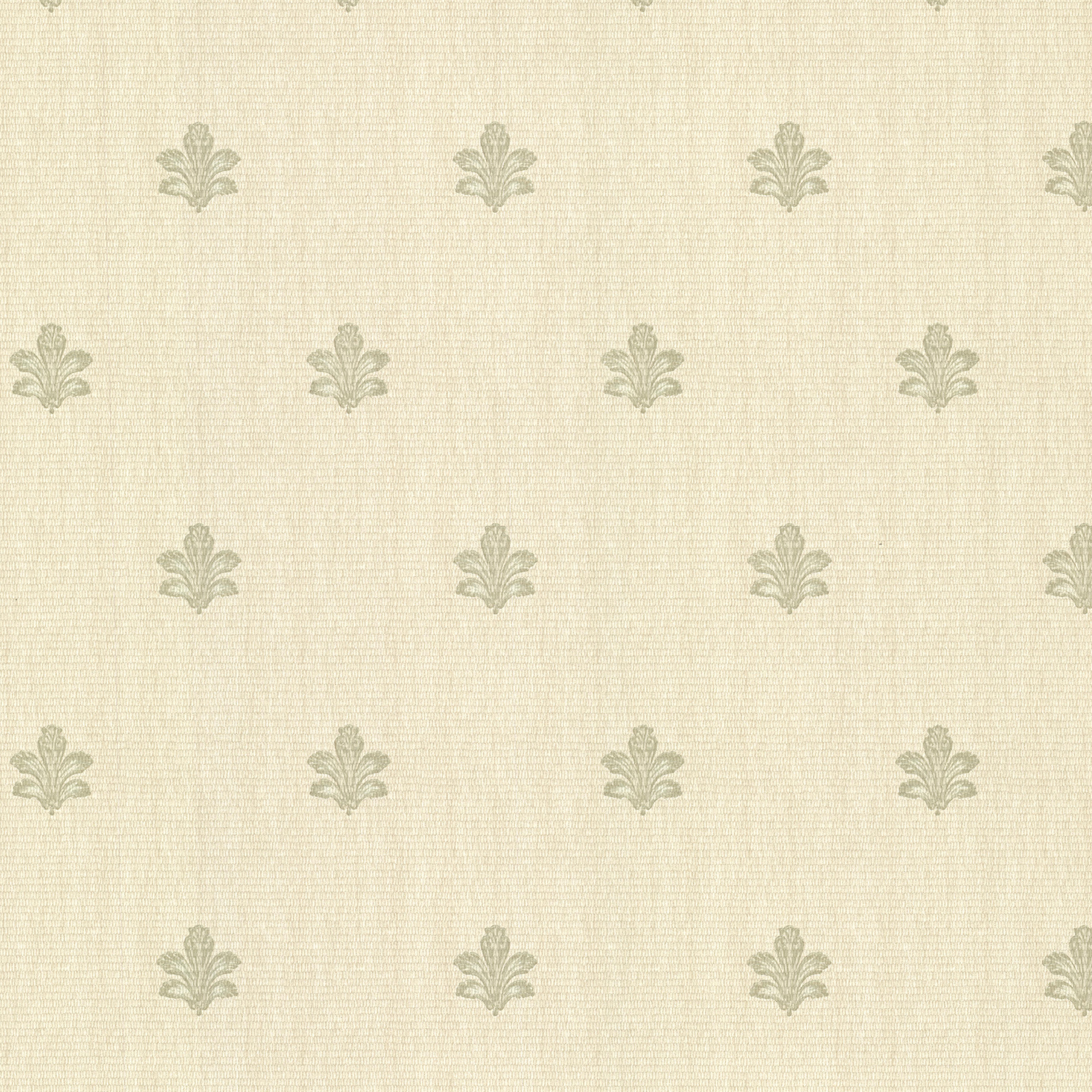 Picture of Bolton Light Green Fleur De Lis Wallpaper