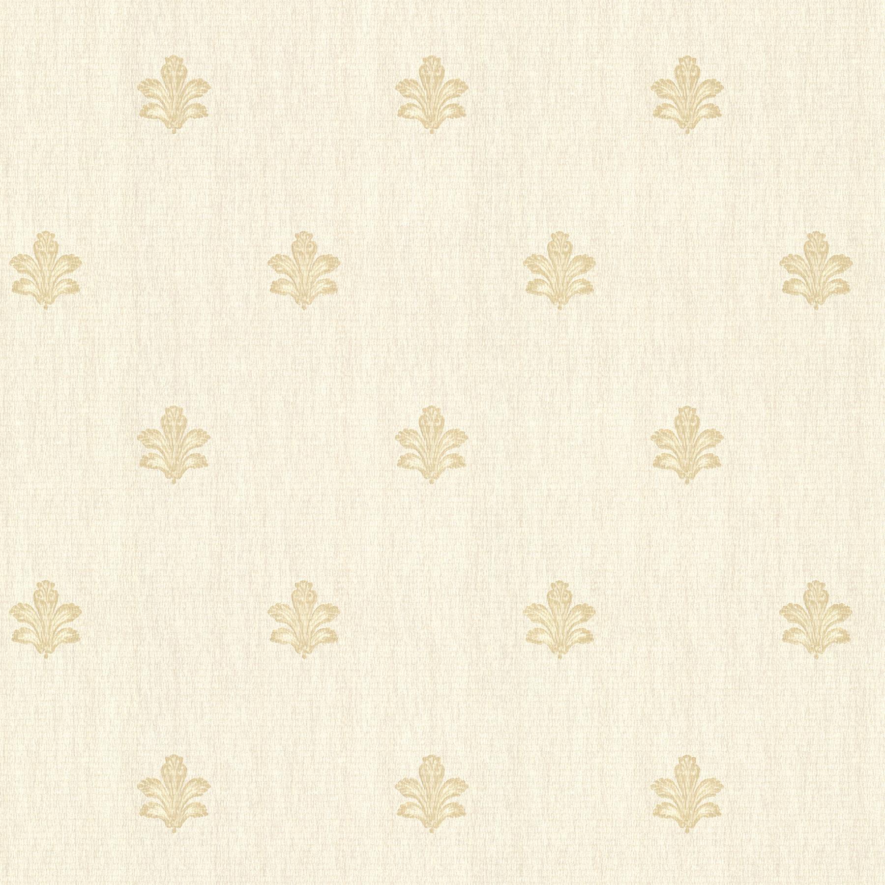 Picture of Bolton Beige Fleur De Lis Wallpaper