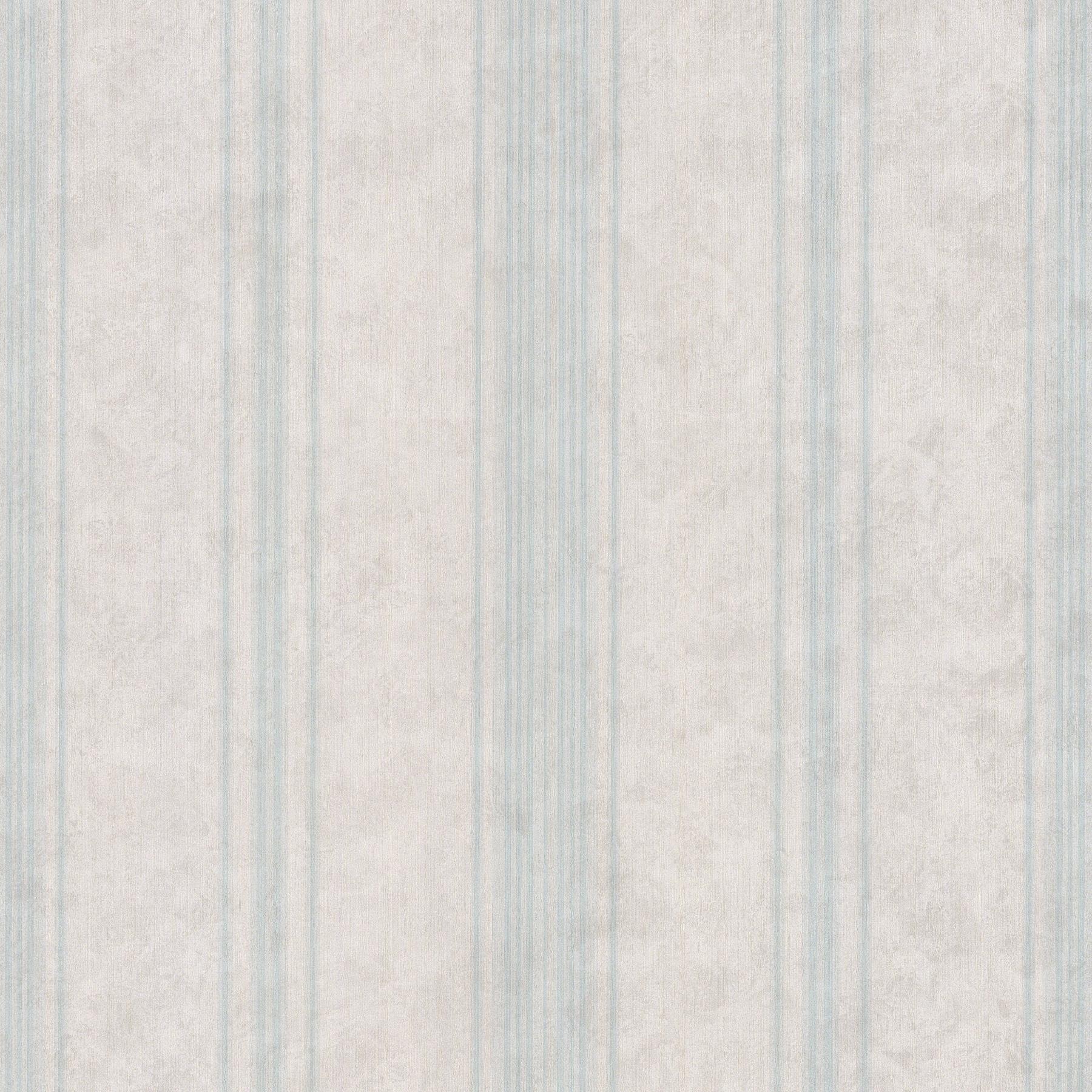 Picture of Biella Aqua Stria Stripe Wallpaper