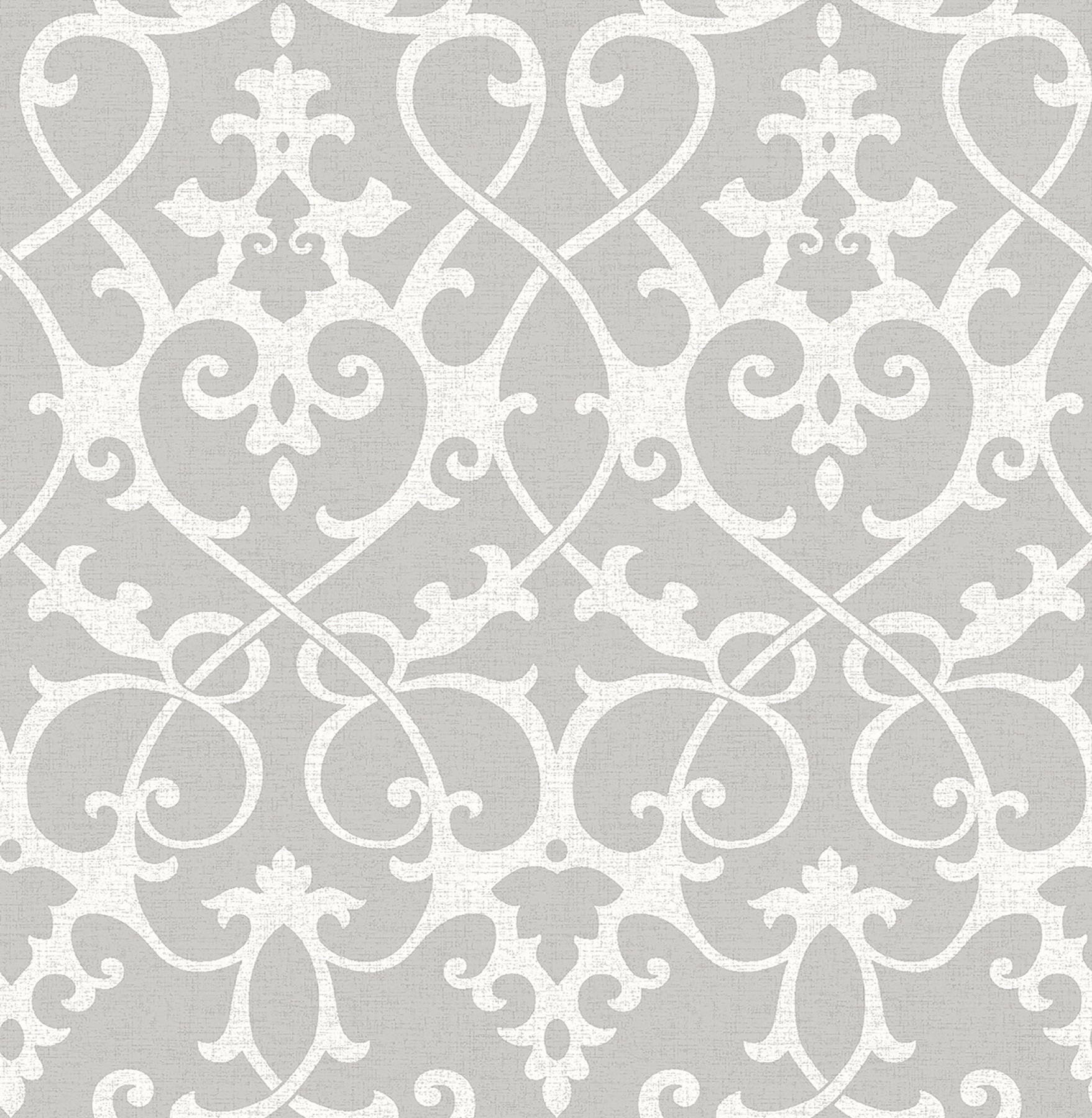 Picture of Axiom Grey Ironwork Wallpaper