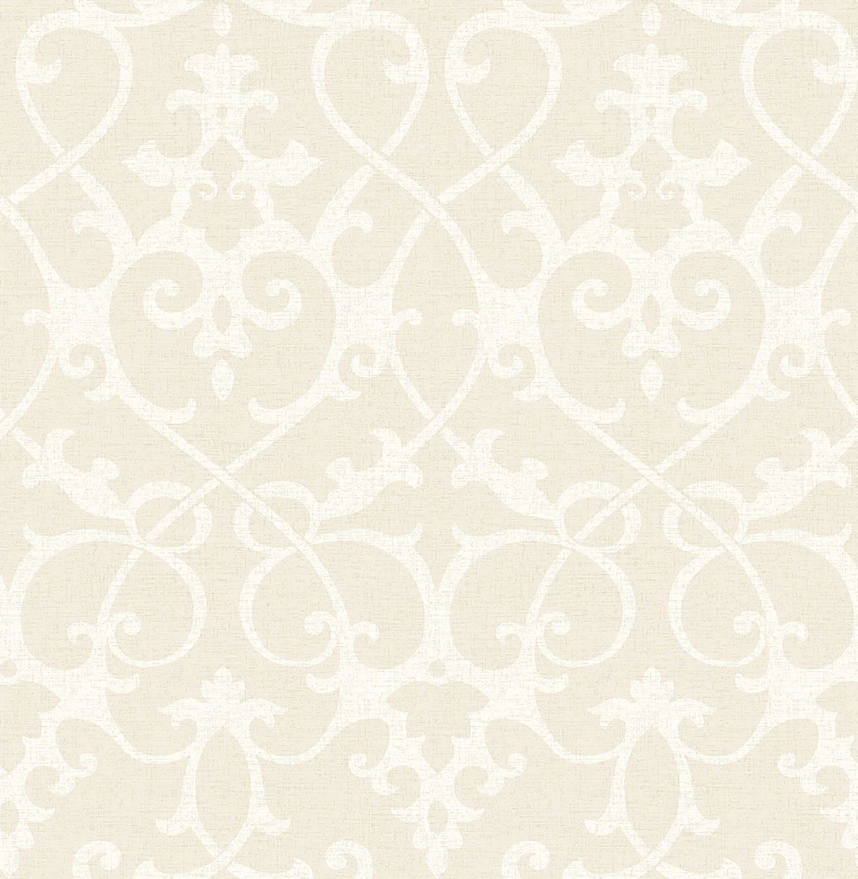 Picture of Axiom Beige Ironwork Wallpaper