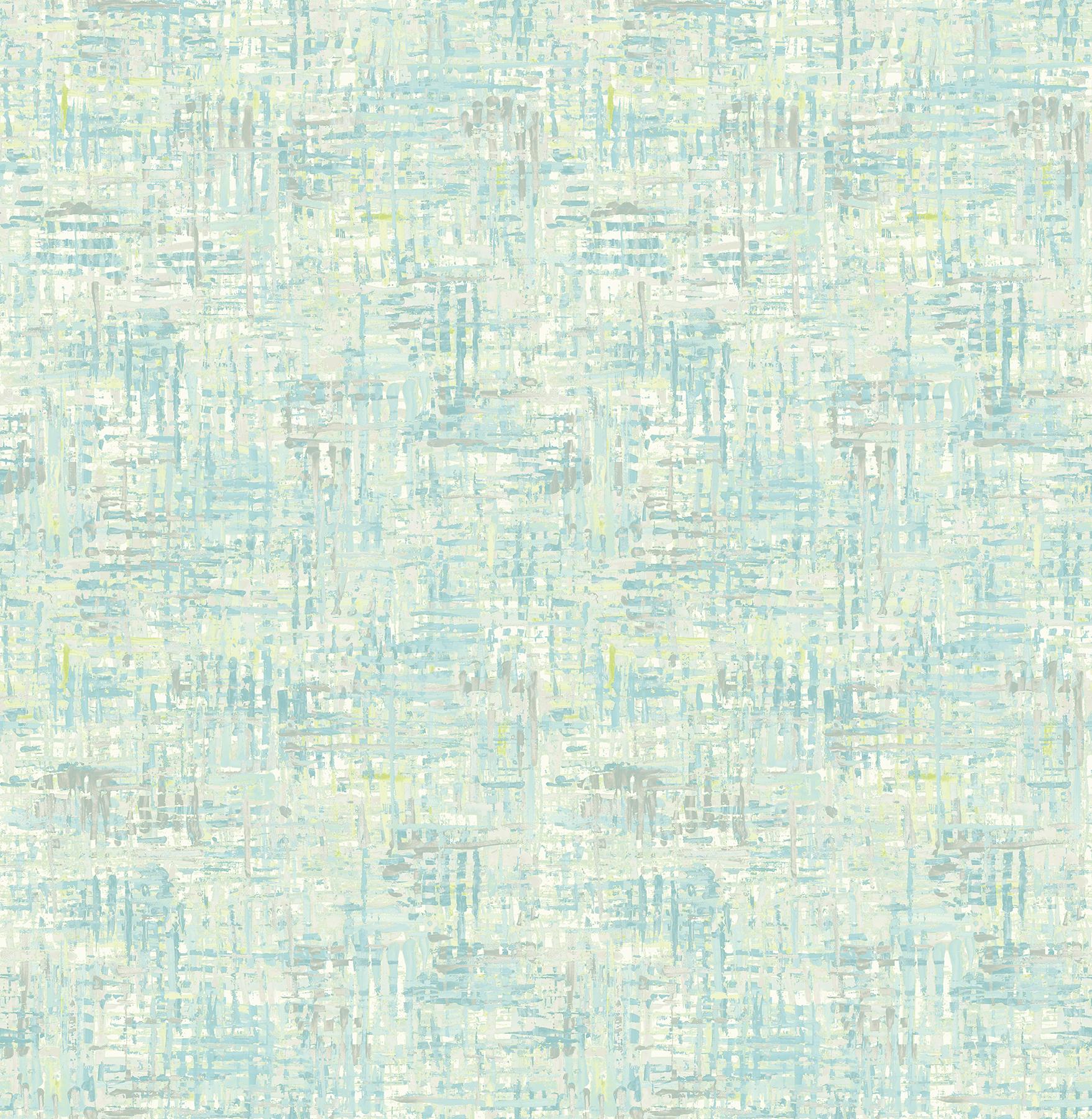 Picture of Avalon Aqua Weave Wallpaper
