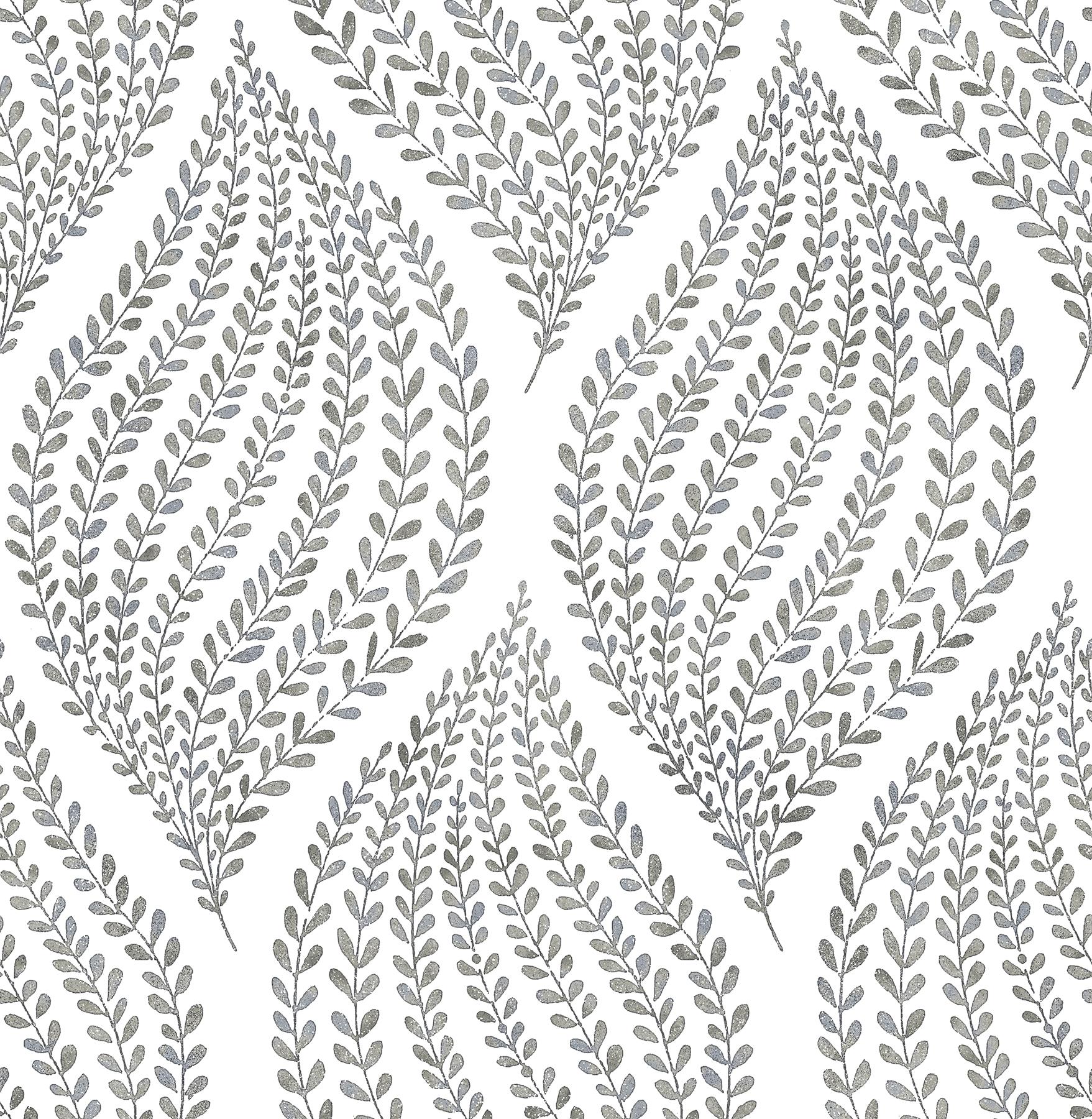 Picture of Arboretum Fog Leaves Wallpaper