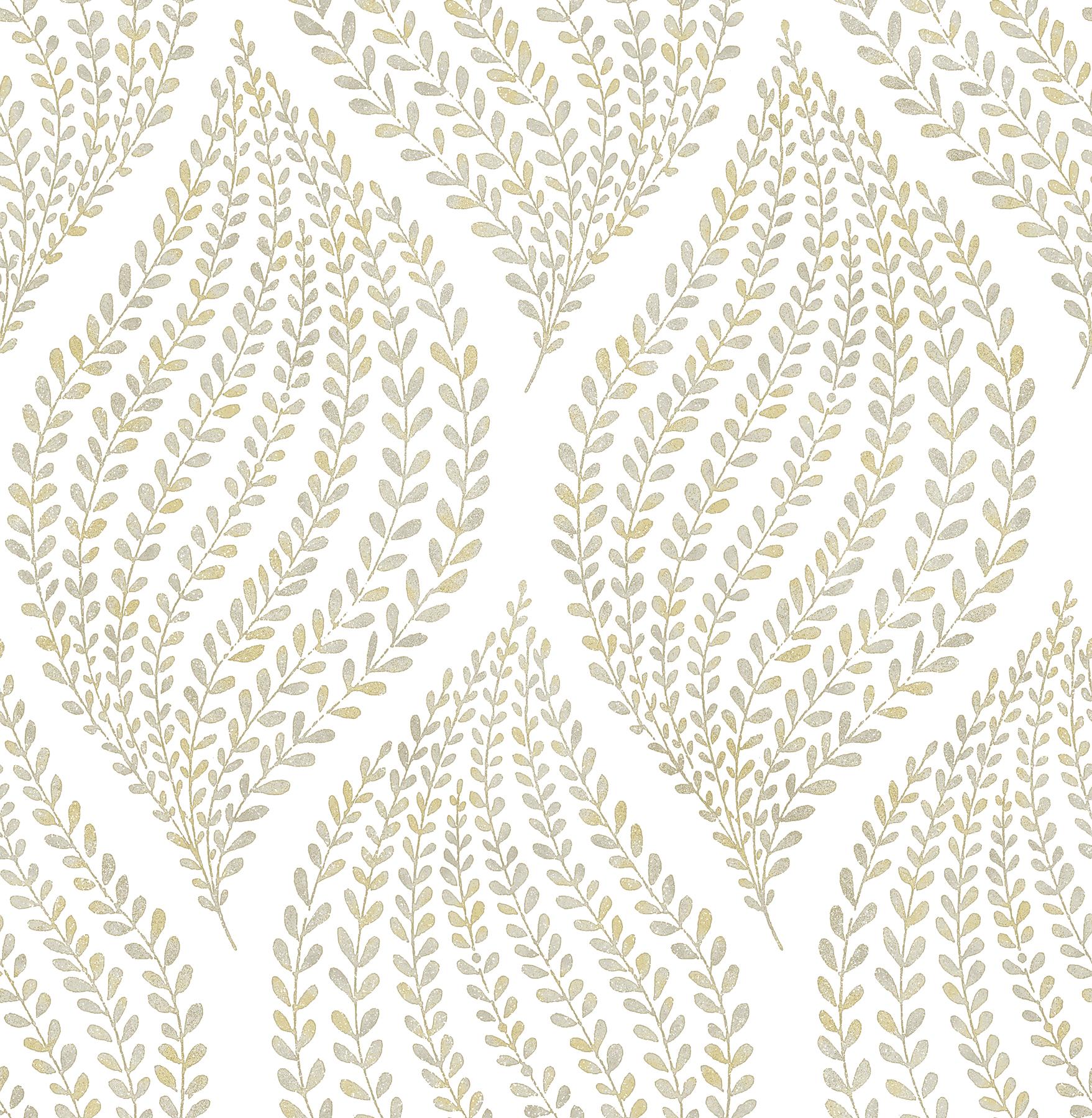 Picture of Arboretum Honey Leaves Wallpaper