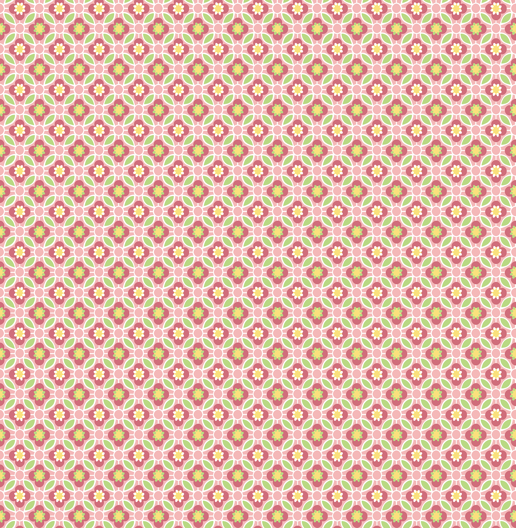 Picture of Audra Pink Floral Wallpaper