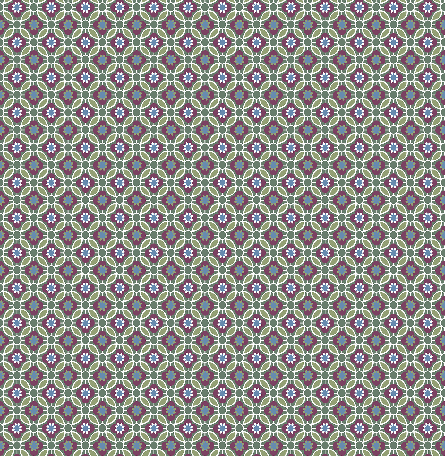Picture of Audra Purple Floral Wallpaper
