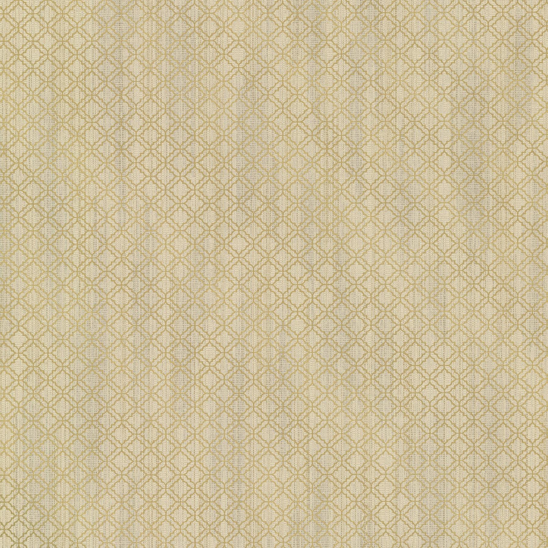 Picture of Berkeley Gold Trellis Wallpaper