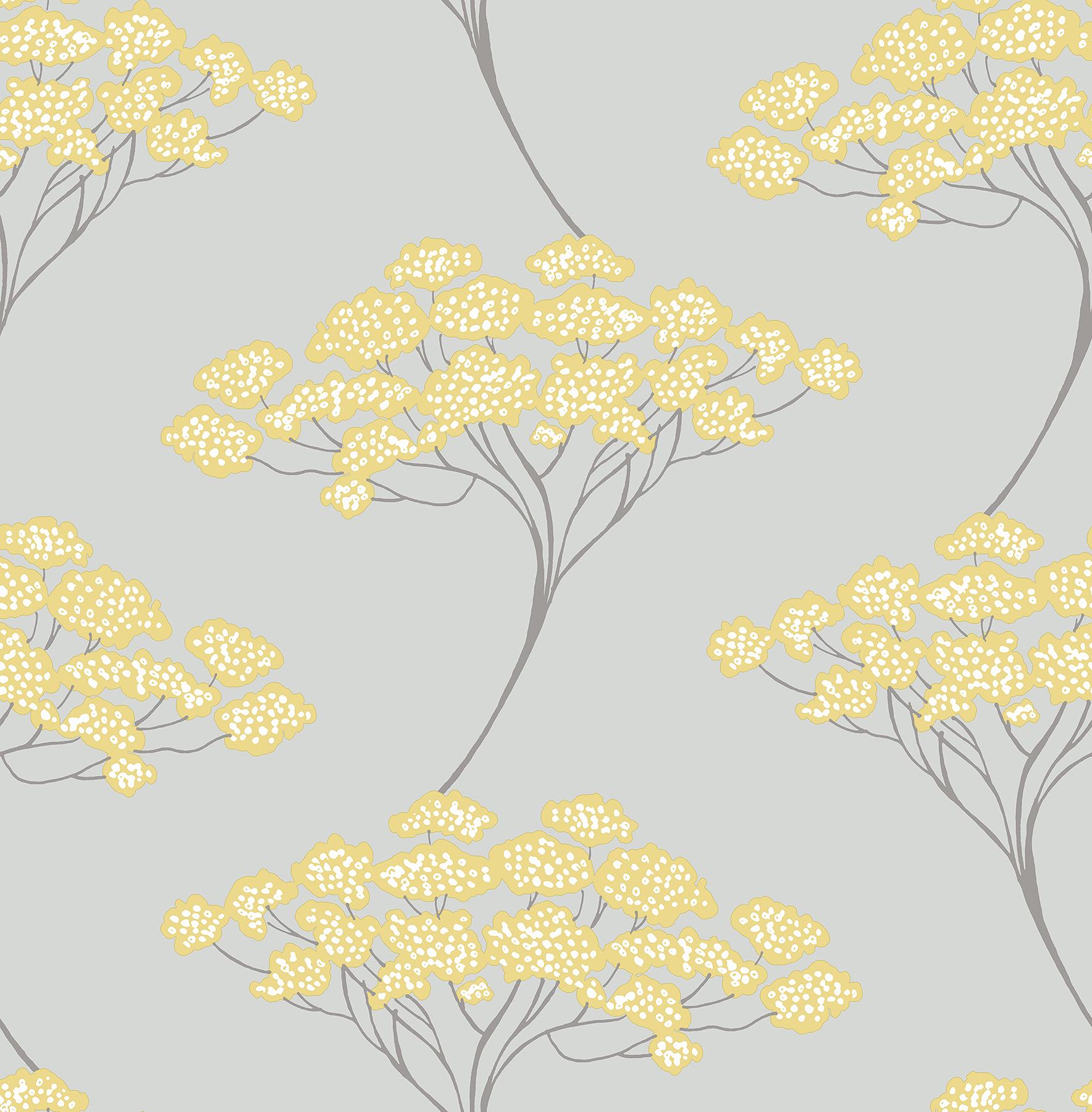 Picture of Banyan Grey Tree Wallpaper