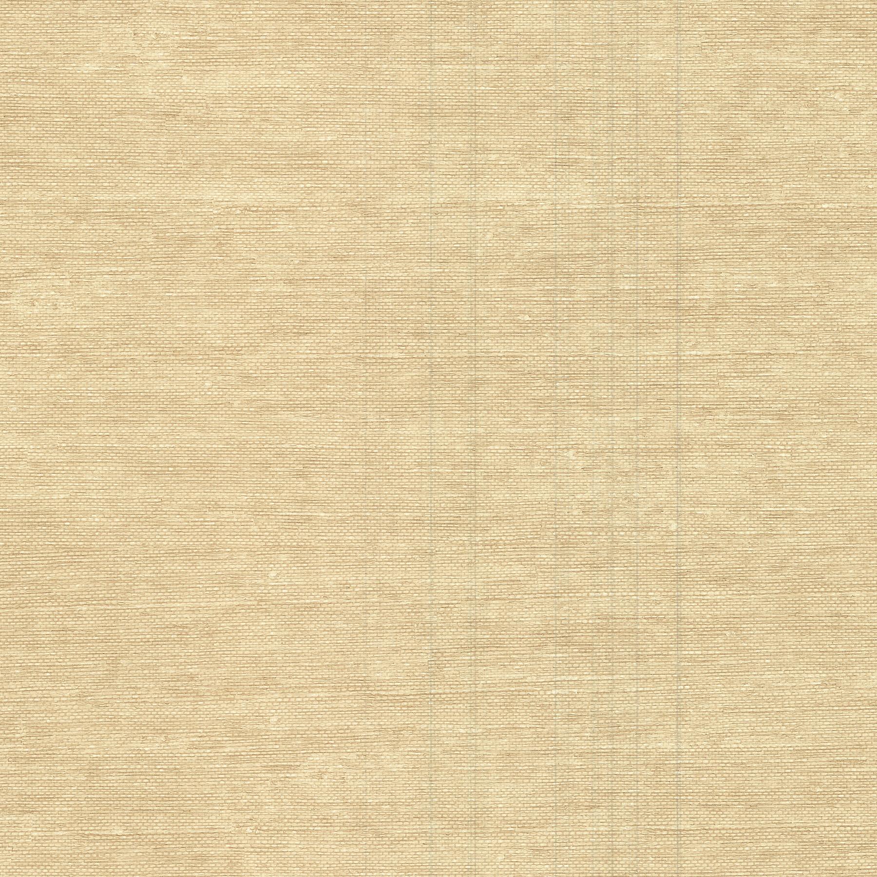 Picture of Aspero Wheat Faux Grasscloth Wallpaper