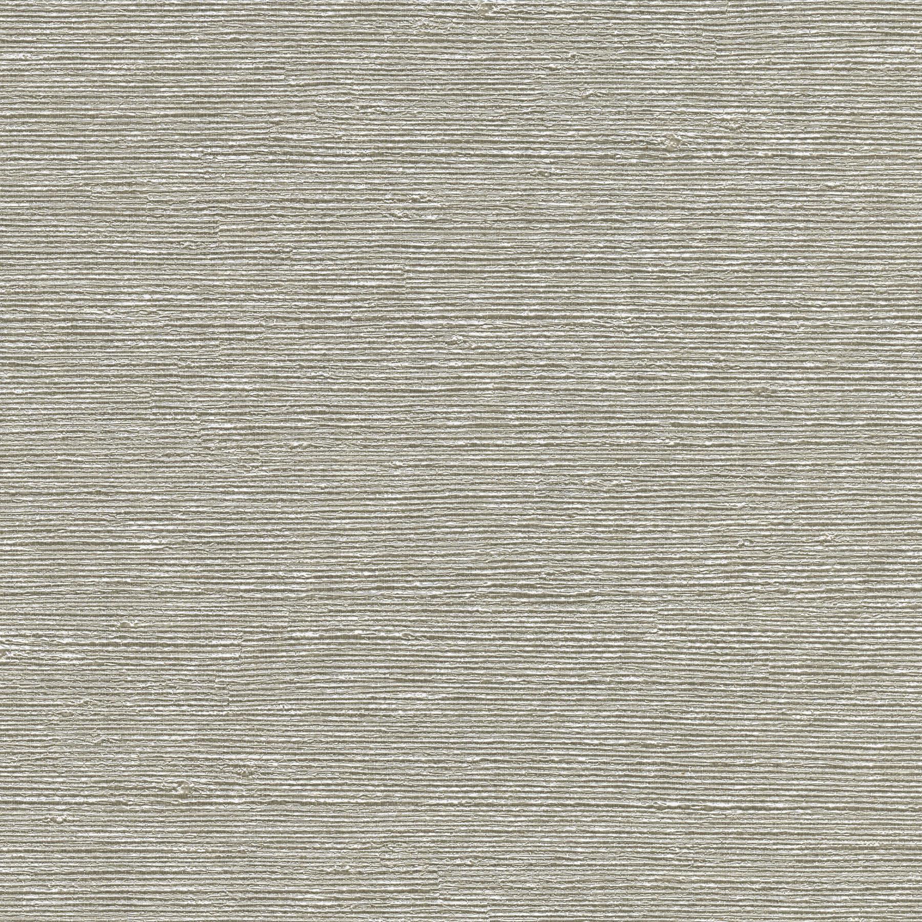 Picture of Aspero Light Grey Faux Grasscloth Wallpaper