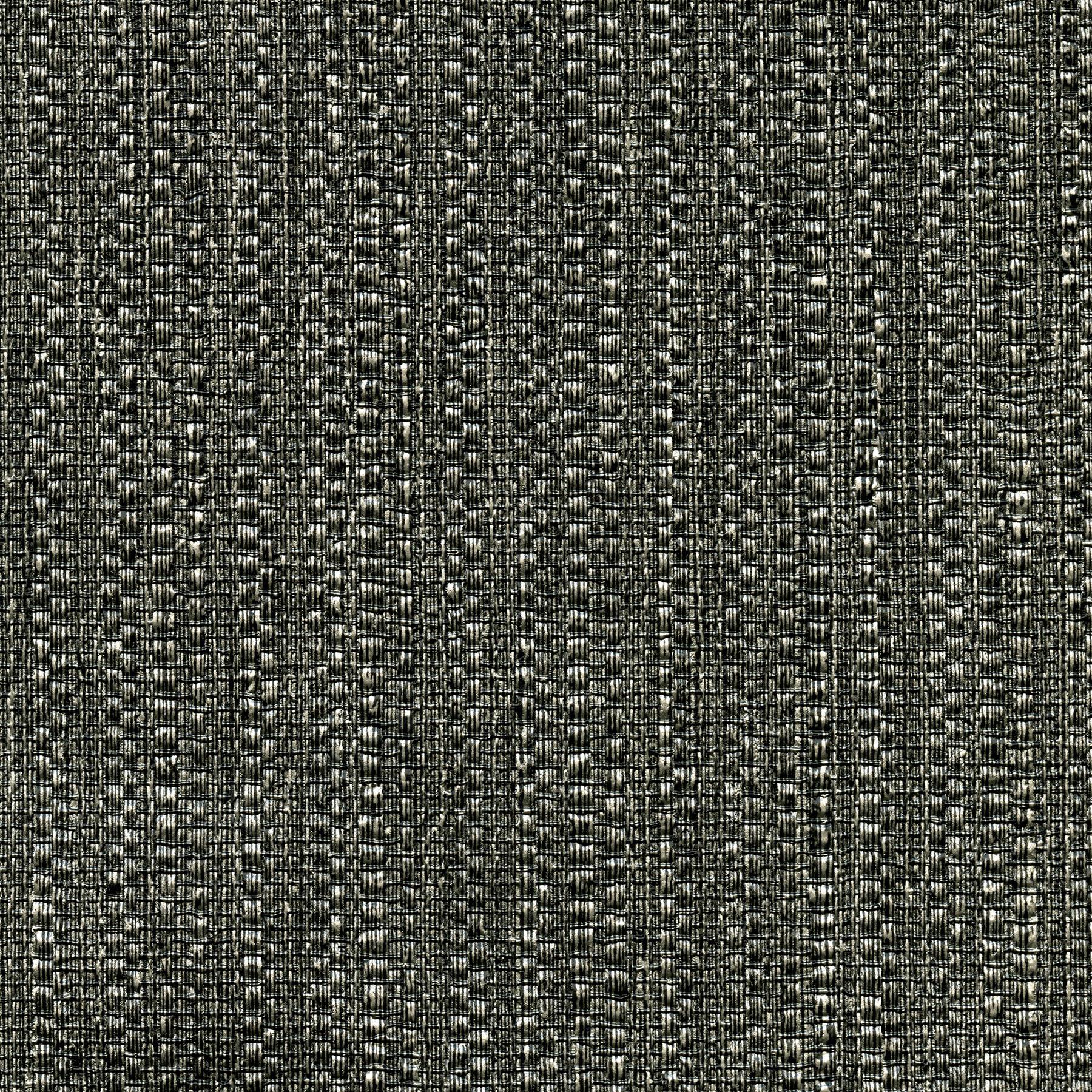 Picture of Biwa Black Vertical Weave Wallpaper