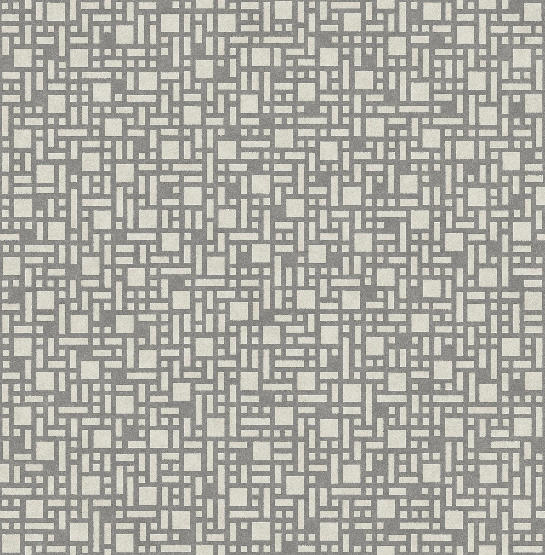 Picture of Bento Grey Geometric Wallpaper