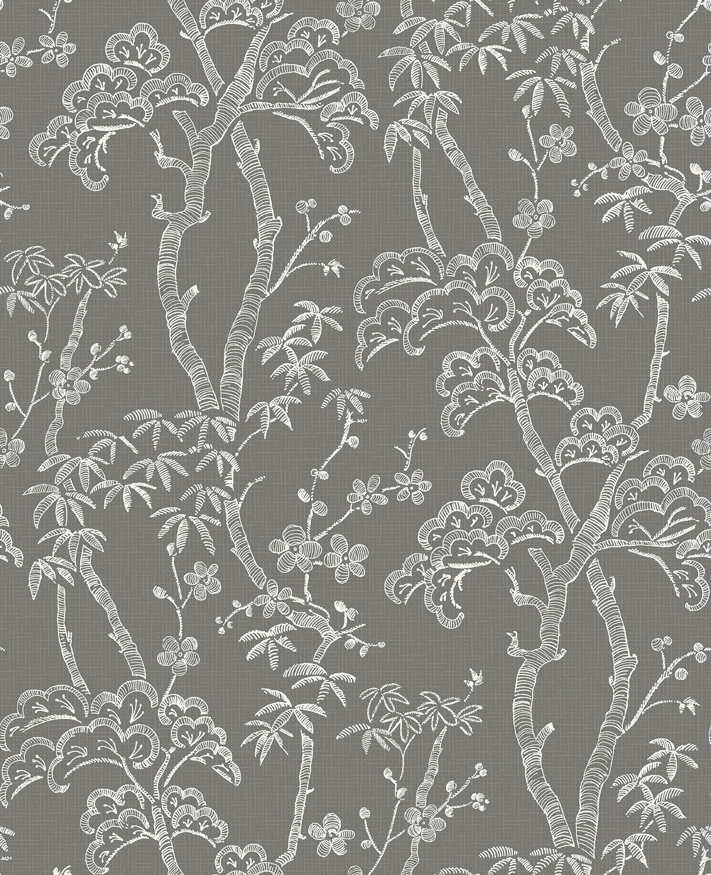 Picture of Bonsai Grey Tree Wallpaper