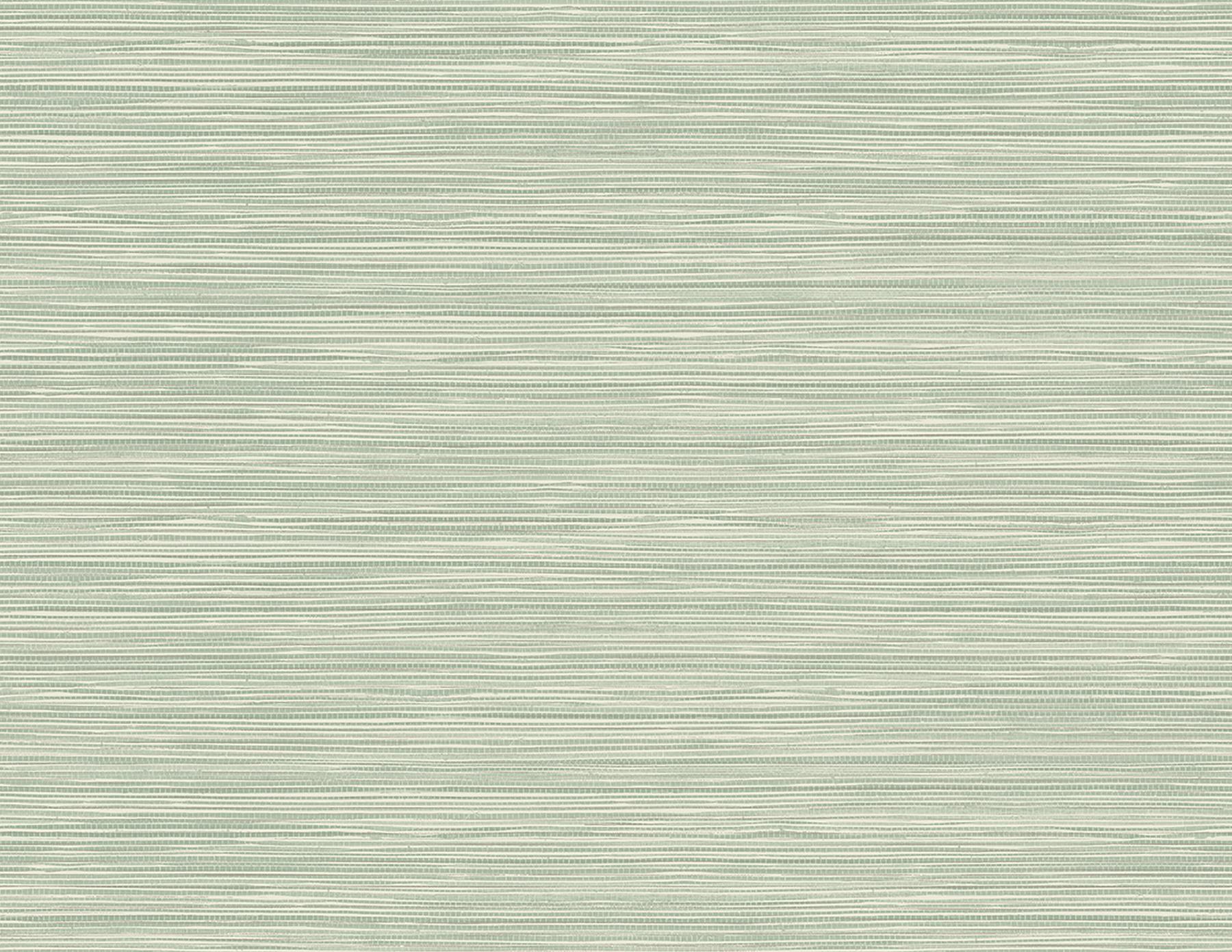 Picture of Bondi Seafoam Grasscloth Texture Wallpaper