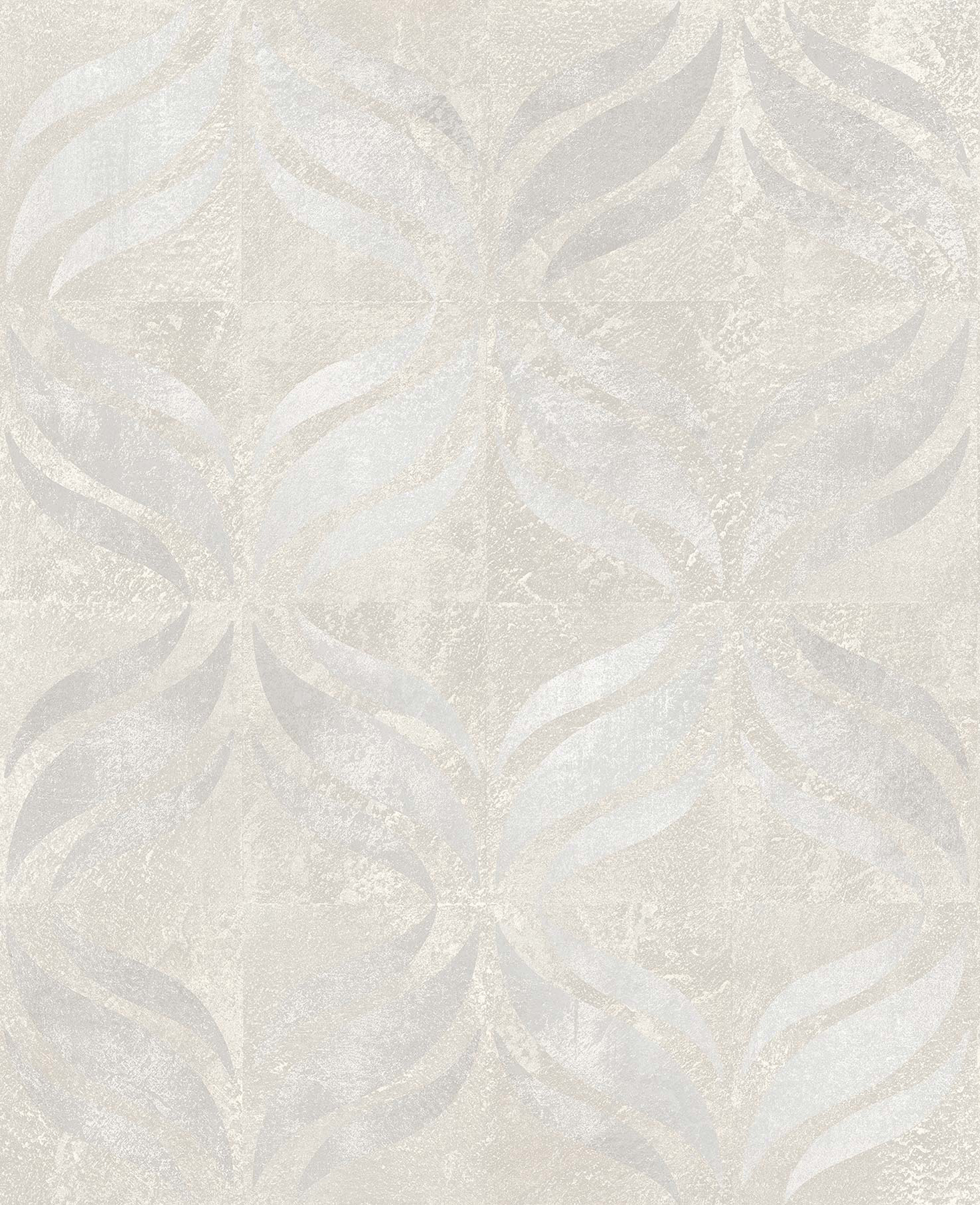 Picture of Beallara Light Grey Ogee Wallpaper