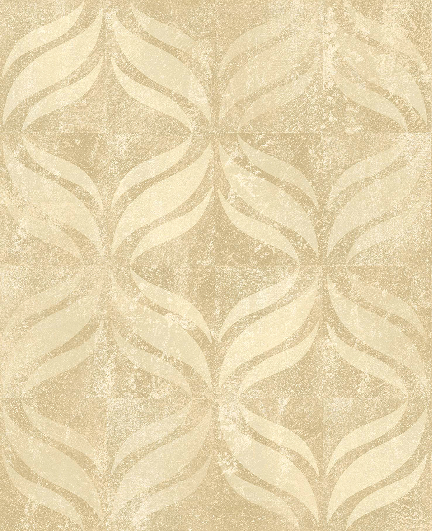 Picture of Beallara Gold Ogee Wallpaper