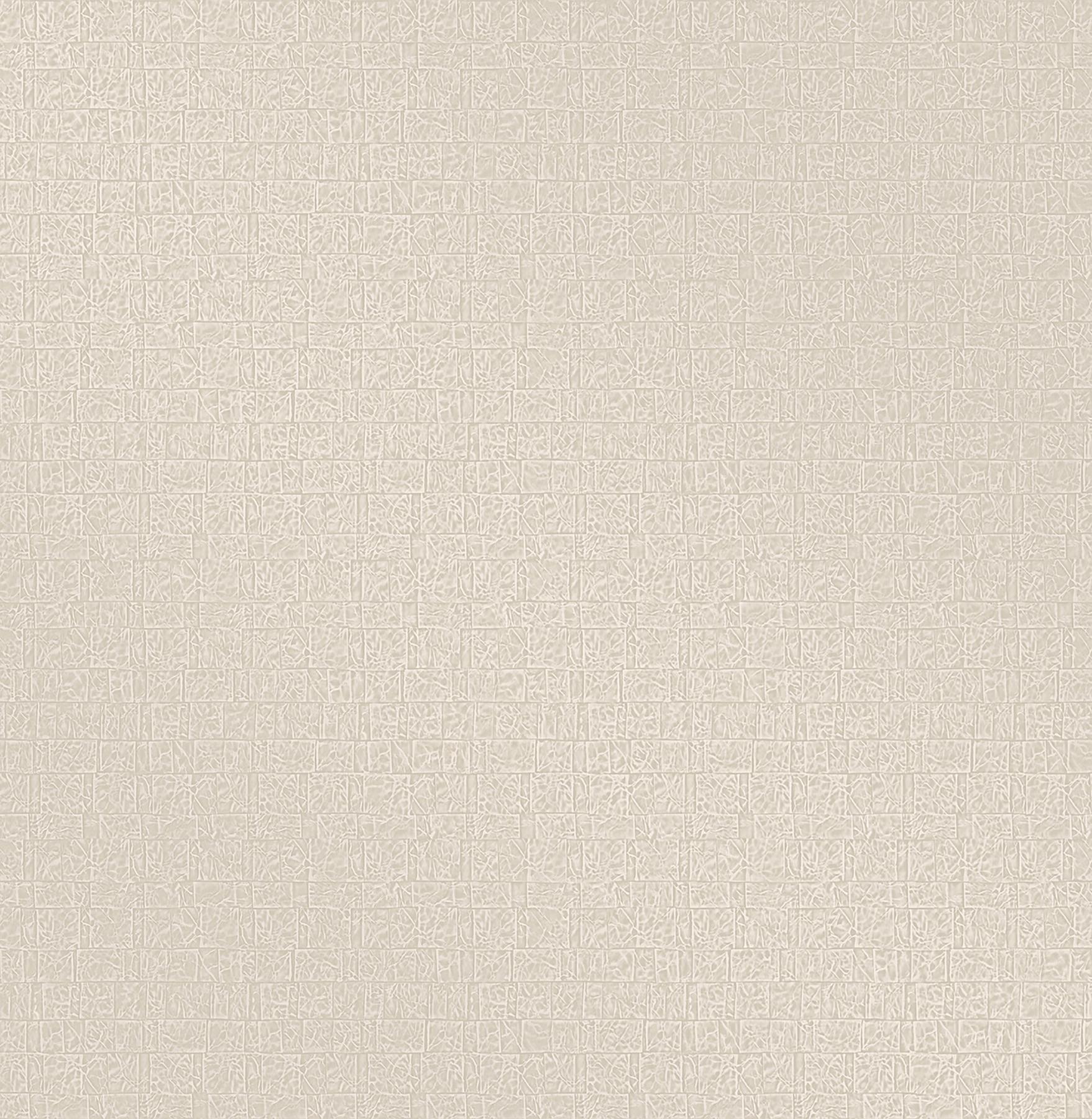 Picture of Basilic Cream Mosaic Wallpaper
