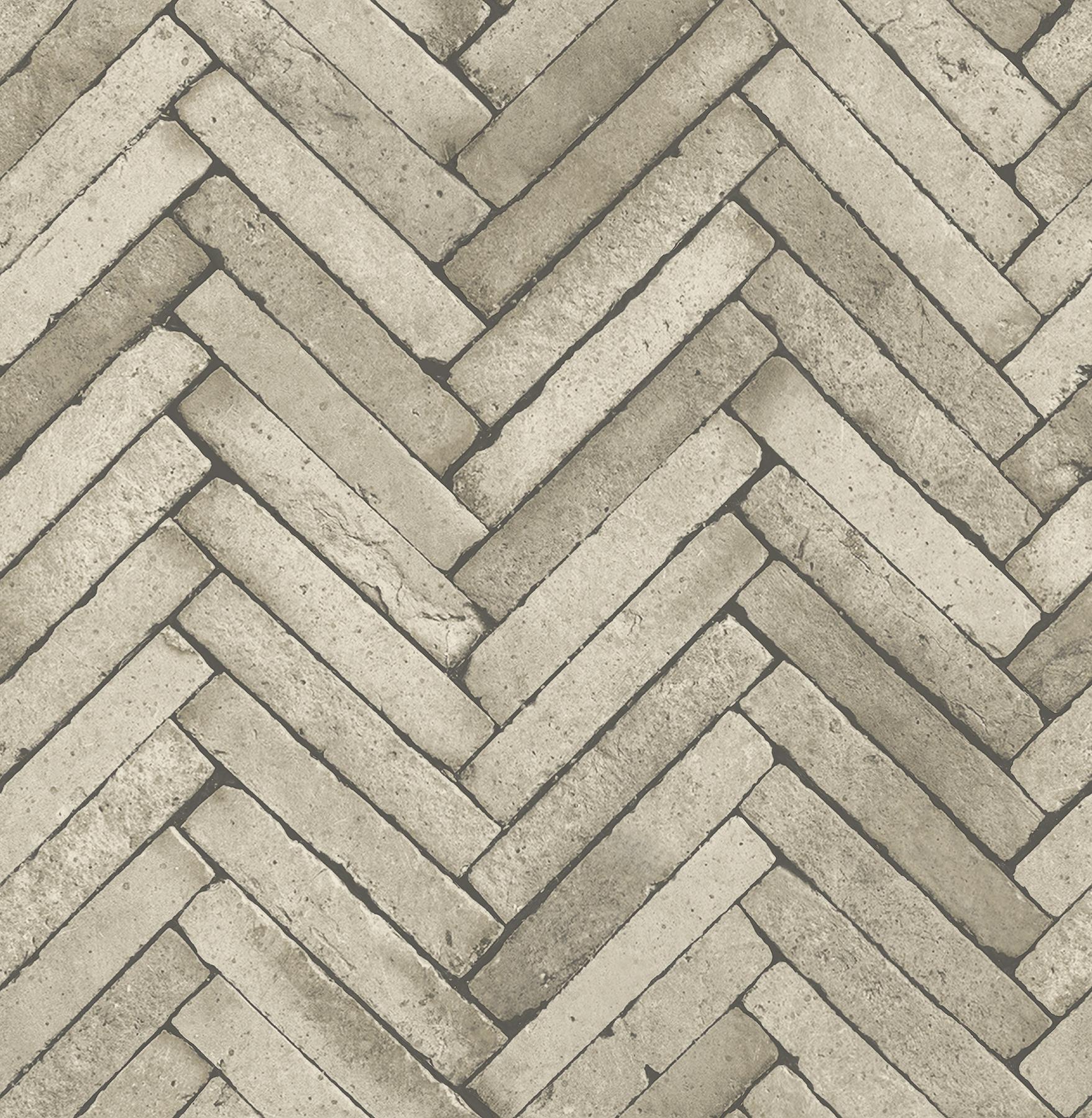 Picture of Arrow Neutral Diagonal Slate Wallpaper