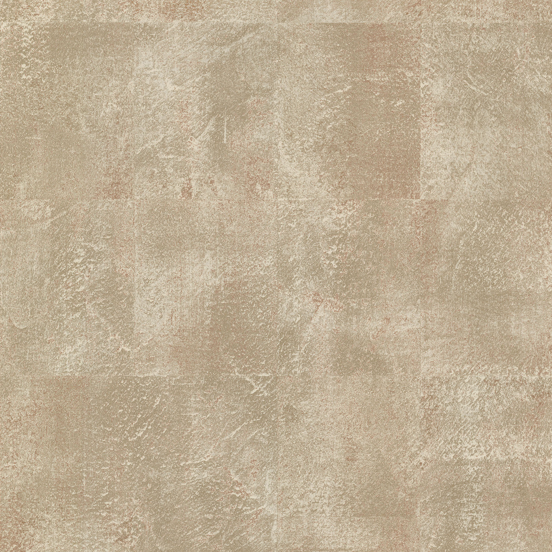 Picture of Azoic Copper Brushstroke Squares Wallpaper