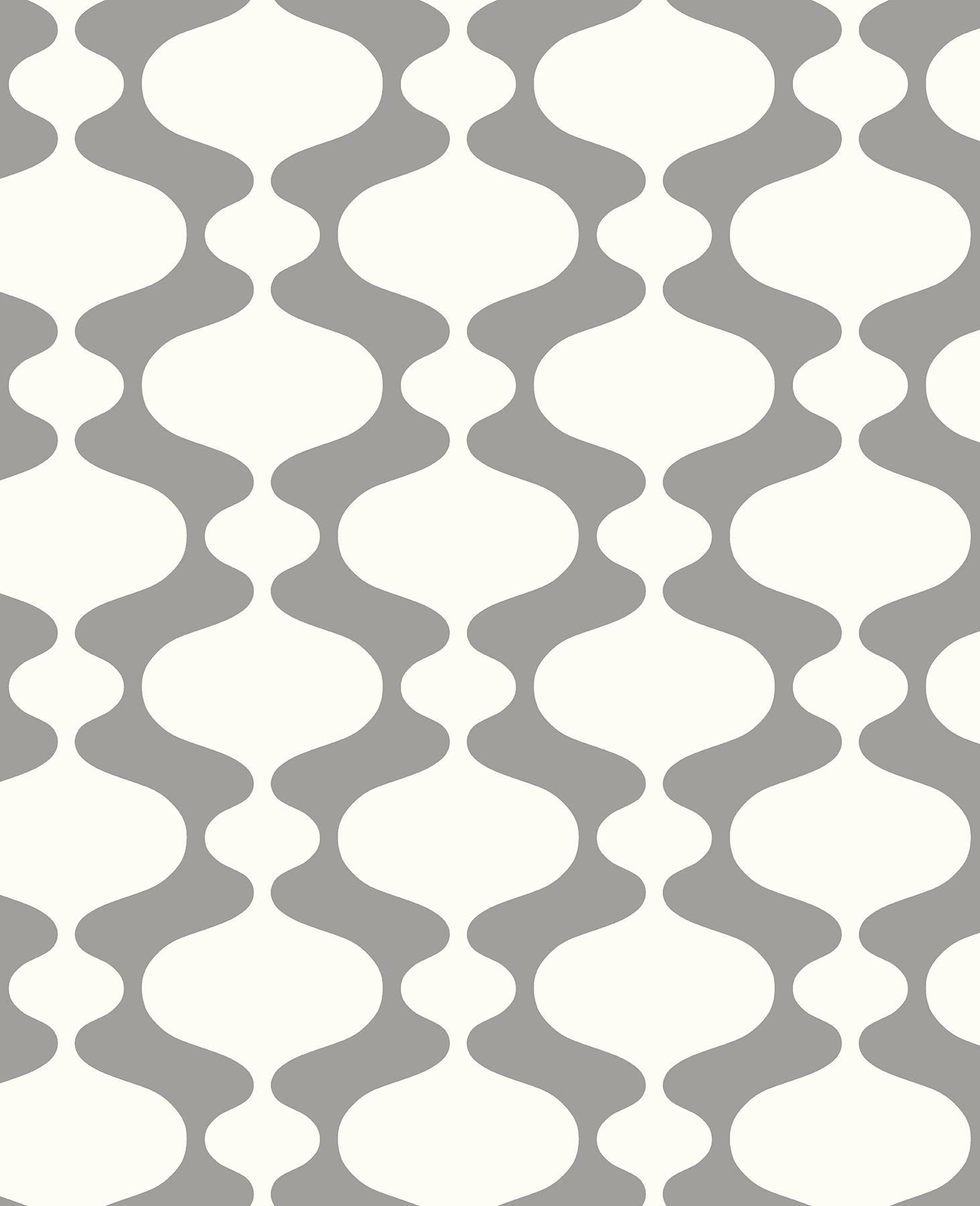 Picture of Ashbury Grey Retro Wallpaper