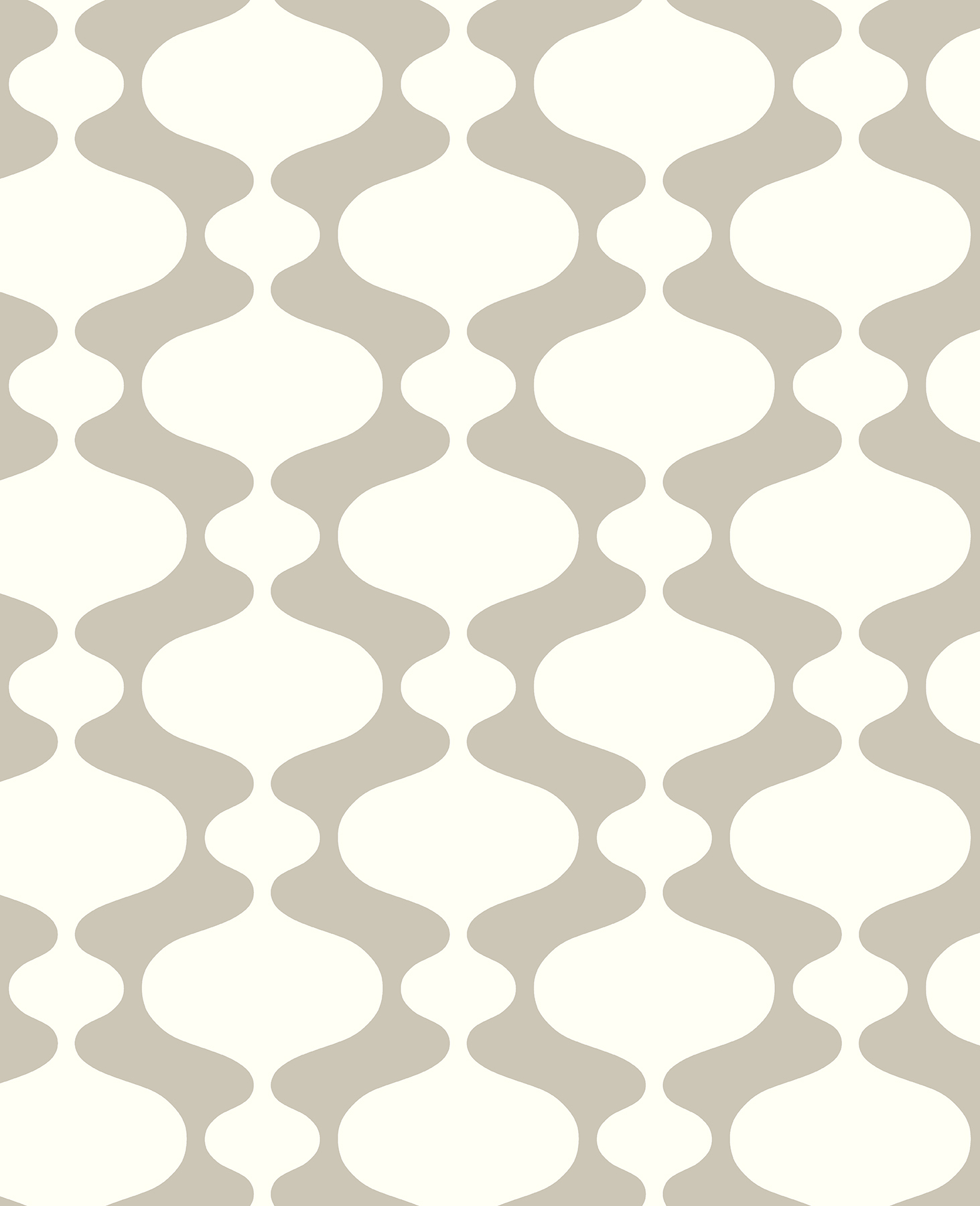 Picture of Ashbury Taupe Retro Wallpaper