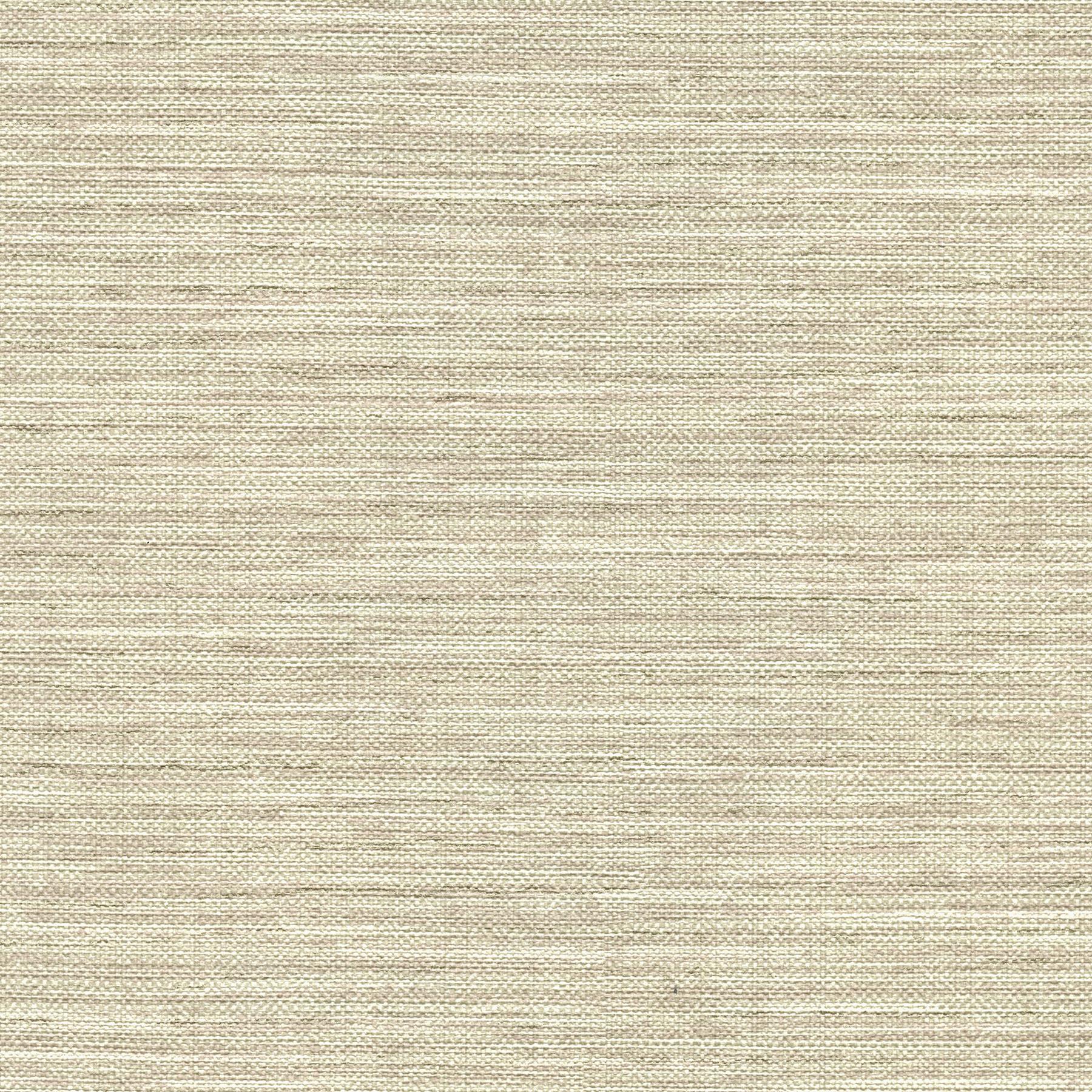 Picture of Bay Ridge Neutral Linen Texture Wallpaper