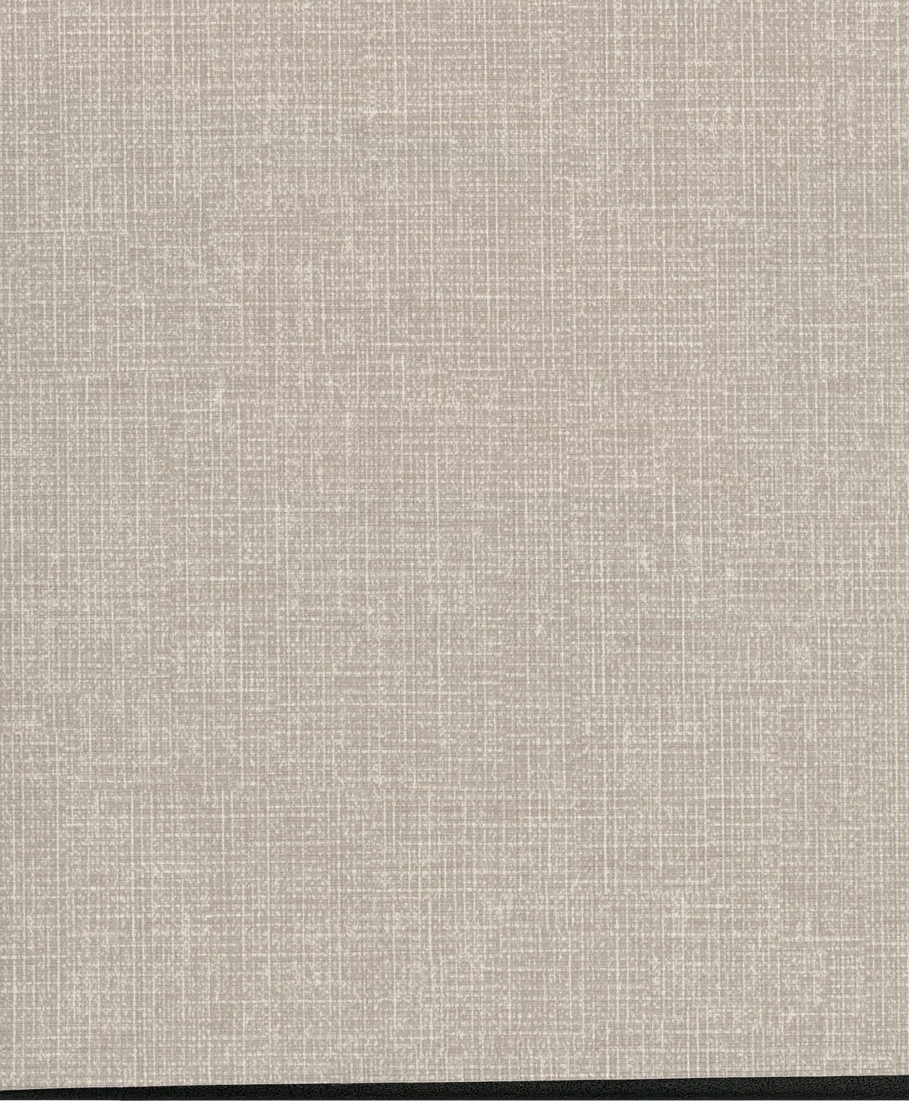 Picture of Arya Grey Fabric Texture Wallpaper