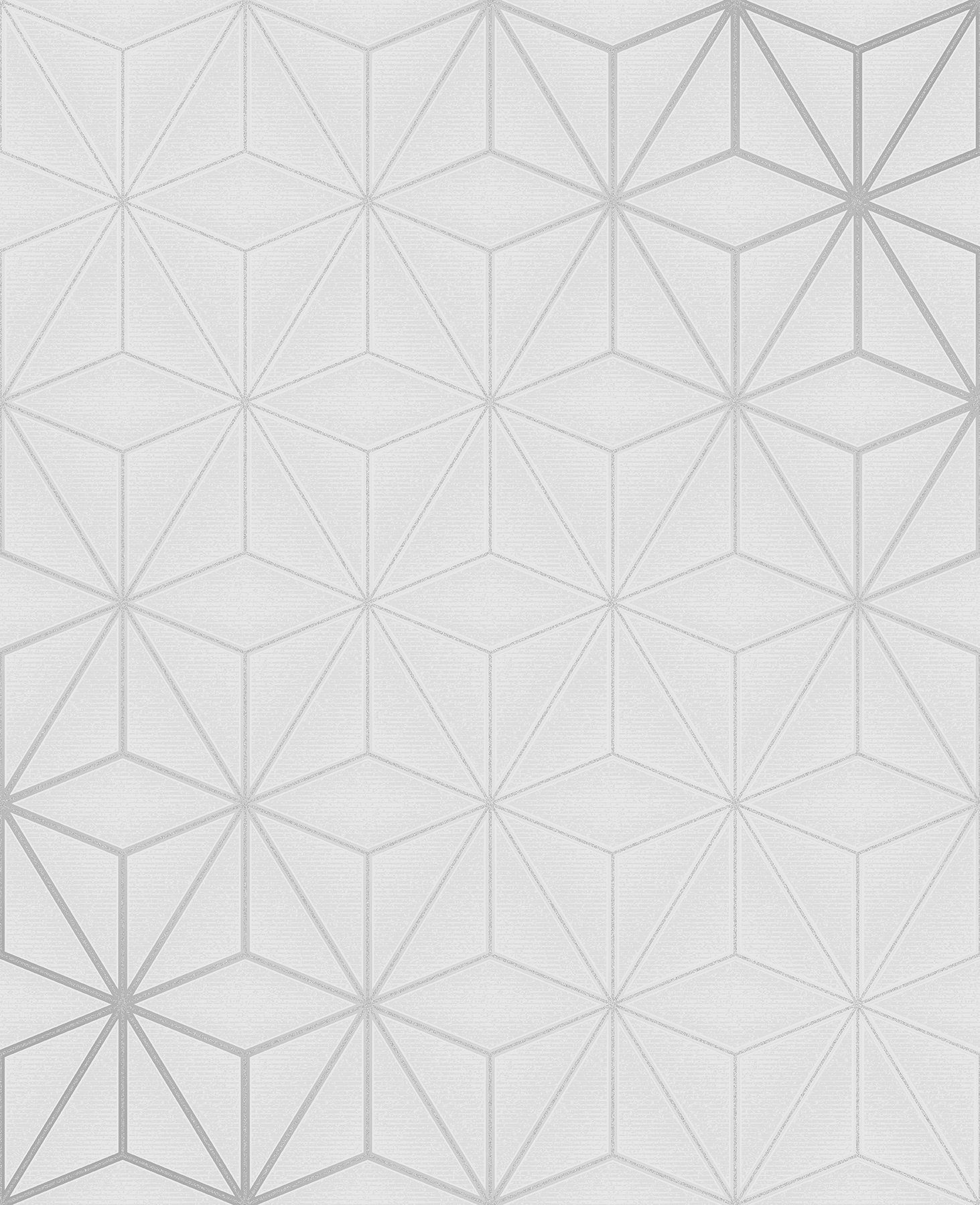 Picture of Augustin Light Grey Geometric Wallpaper