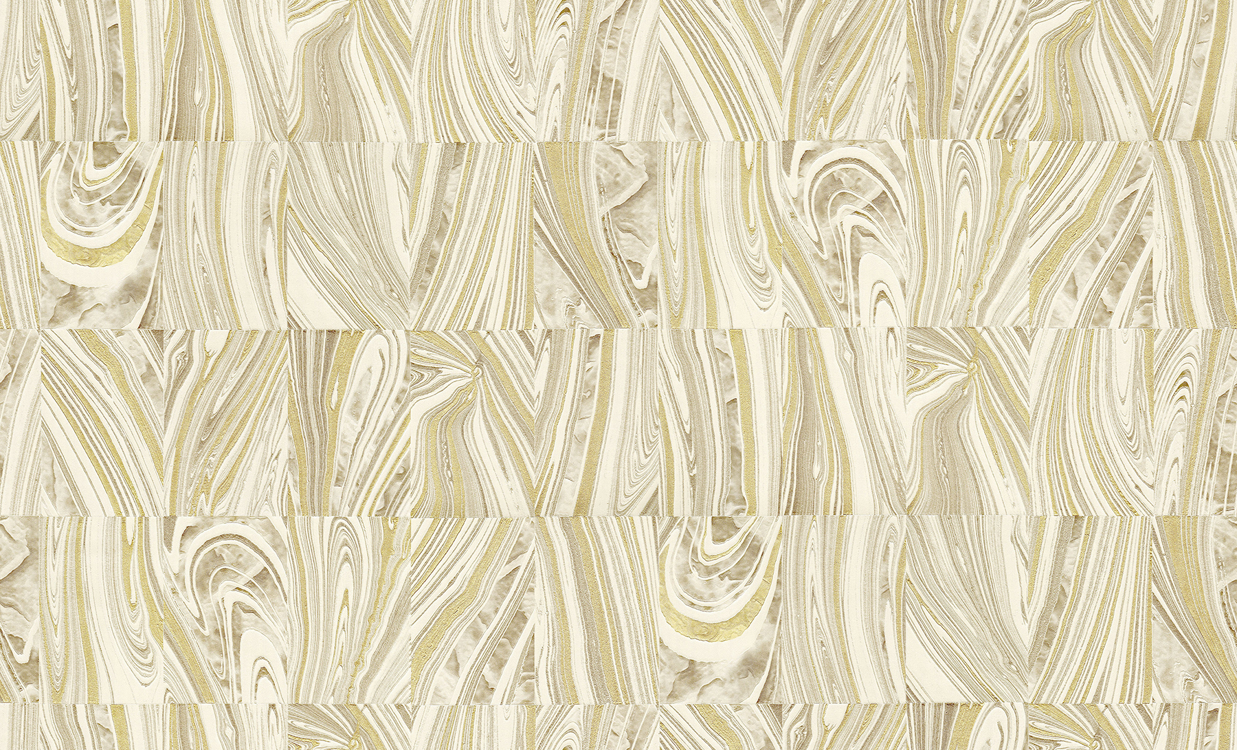 Picture of Boulders Champagne Glitter Marble Wallpaper