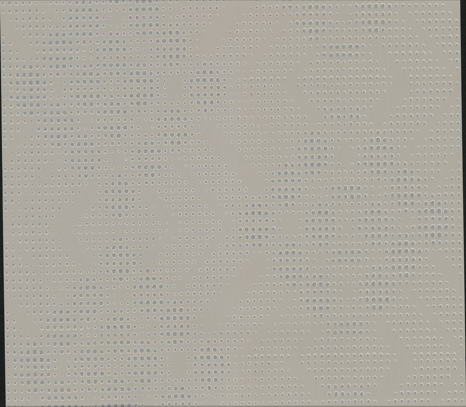Picture of Banquo Taupe Geometric Wallpaper