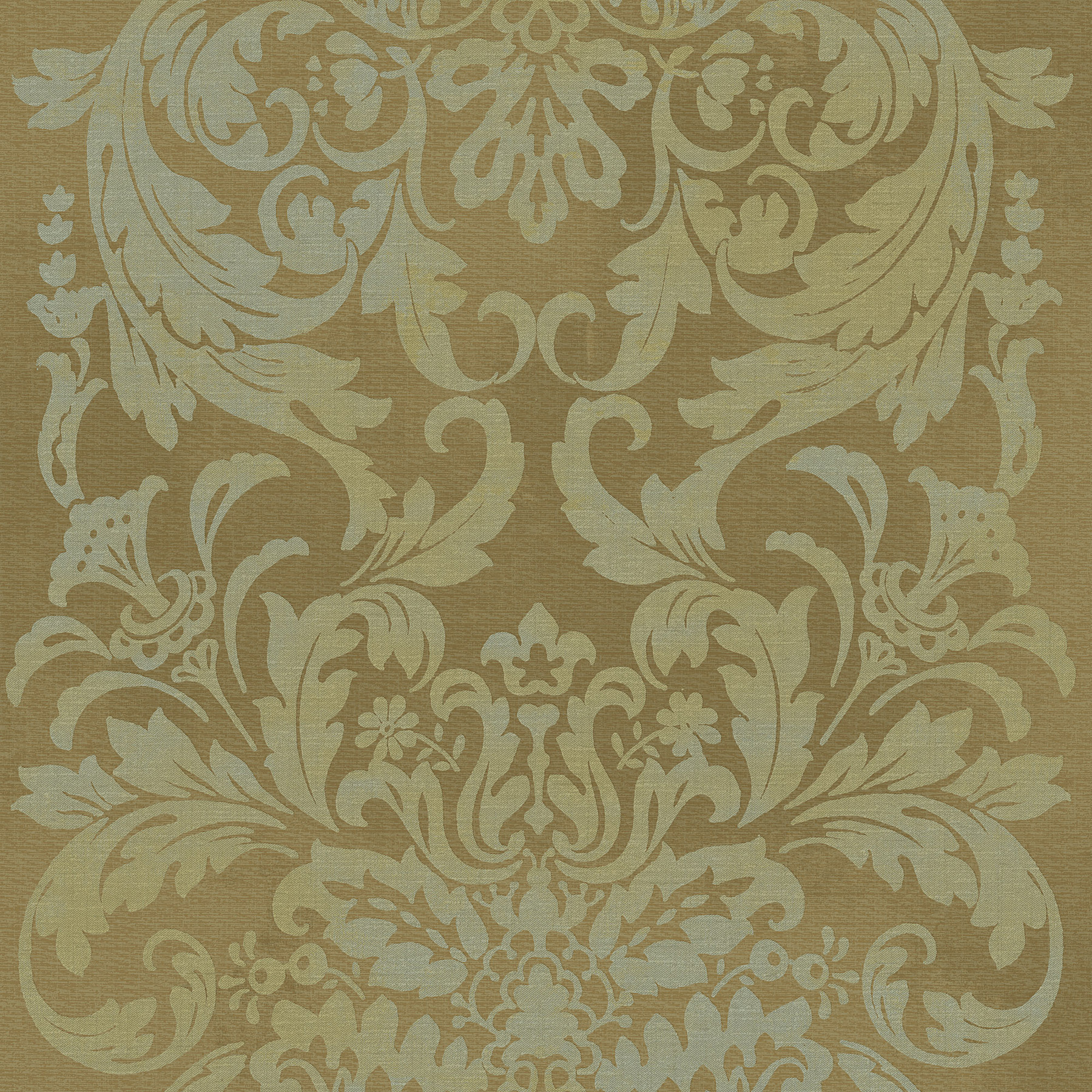 Picture of Bronze Damask Wallpaper
