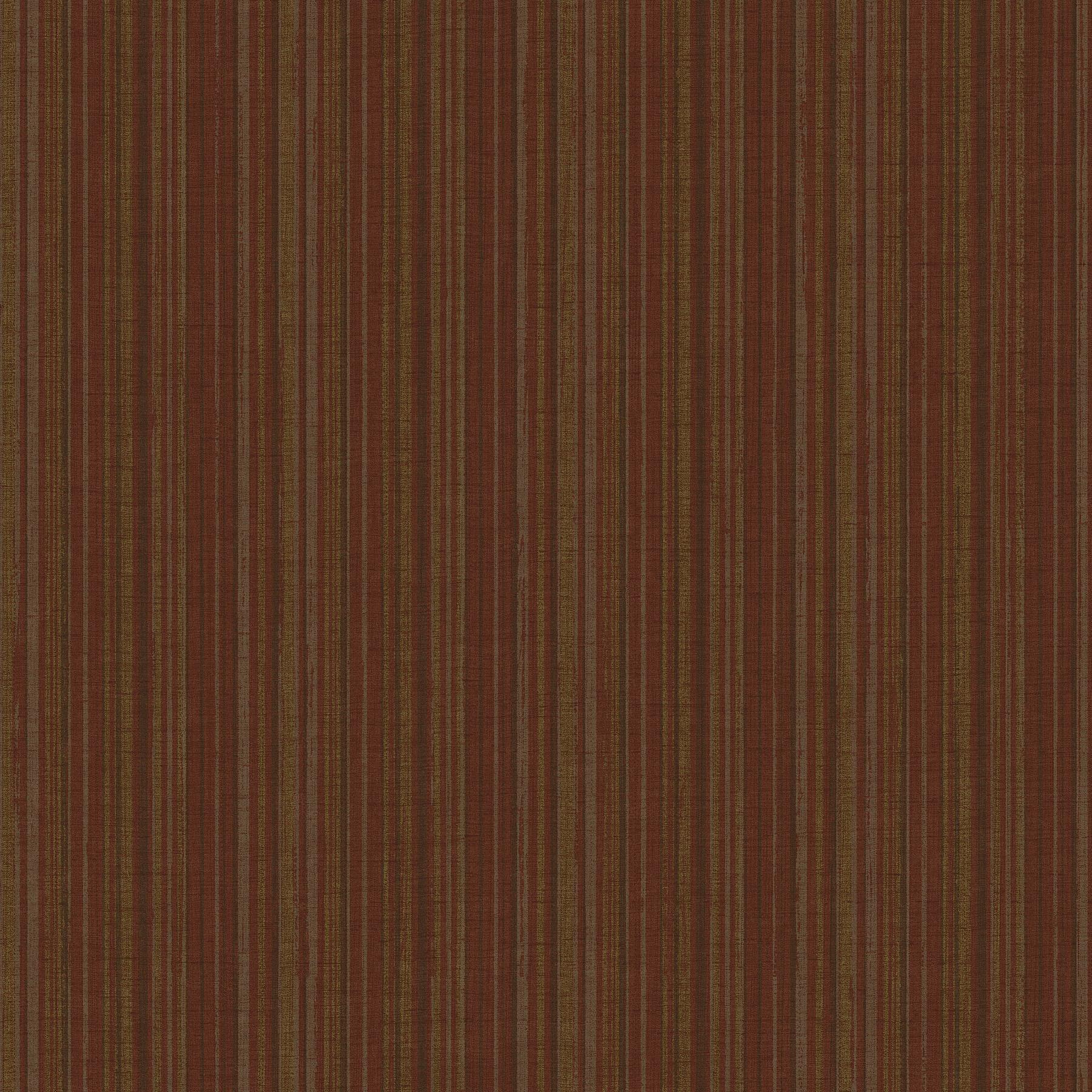 Picture of Brick Mutli Stripe Wallpaper