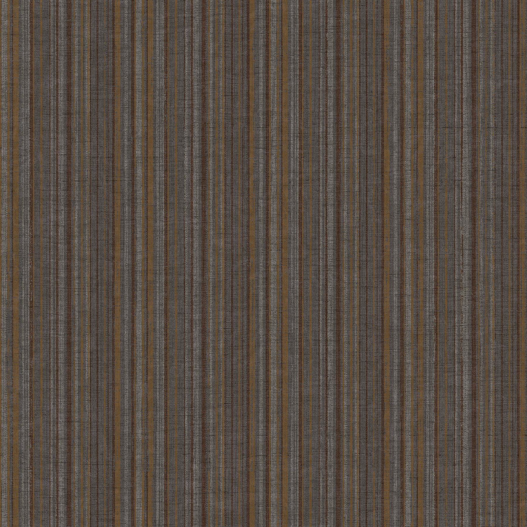 Picture of Brown Mutli Stripe Wallpaper