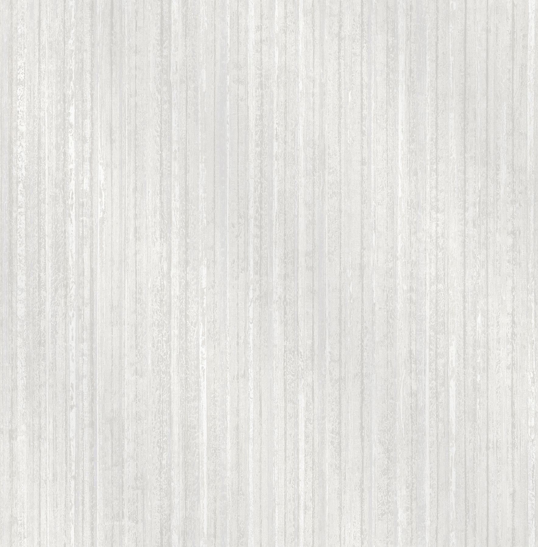 Picture of Bijou White Faux Metal Wallpaper