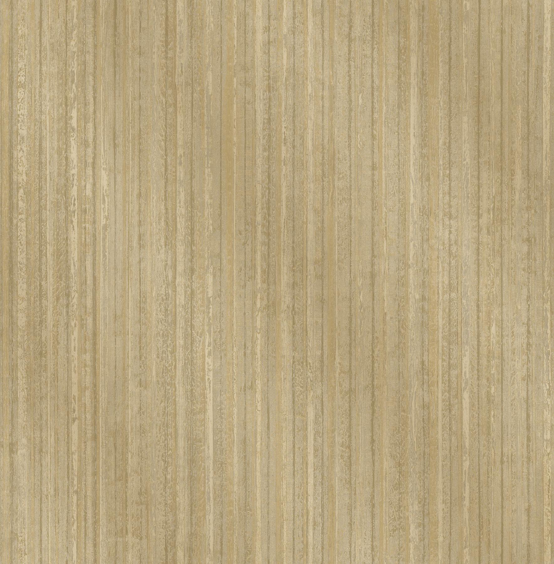 Picture of Bijou Gold Faux Metal Wallpaper