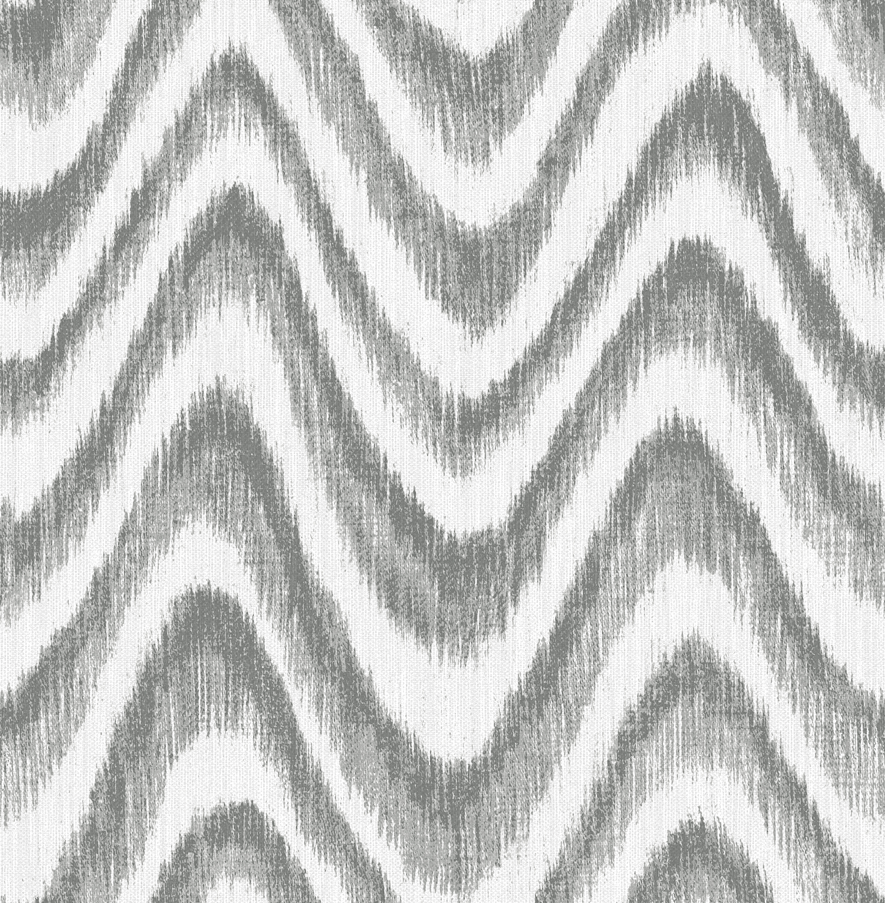 Picture of Bargello Grey Faux Grasscloth Wave Wallpaper