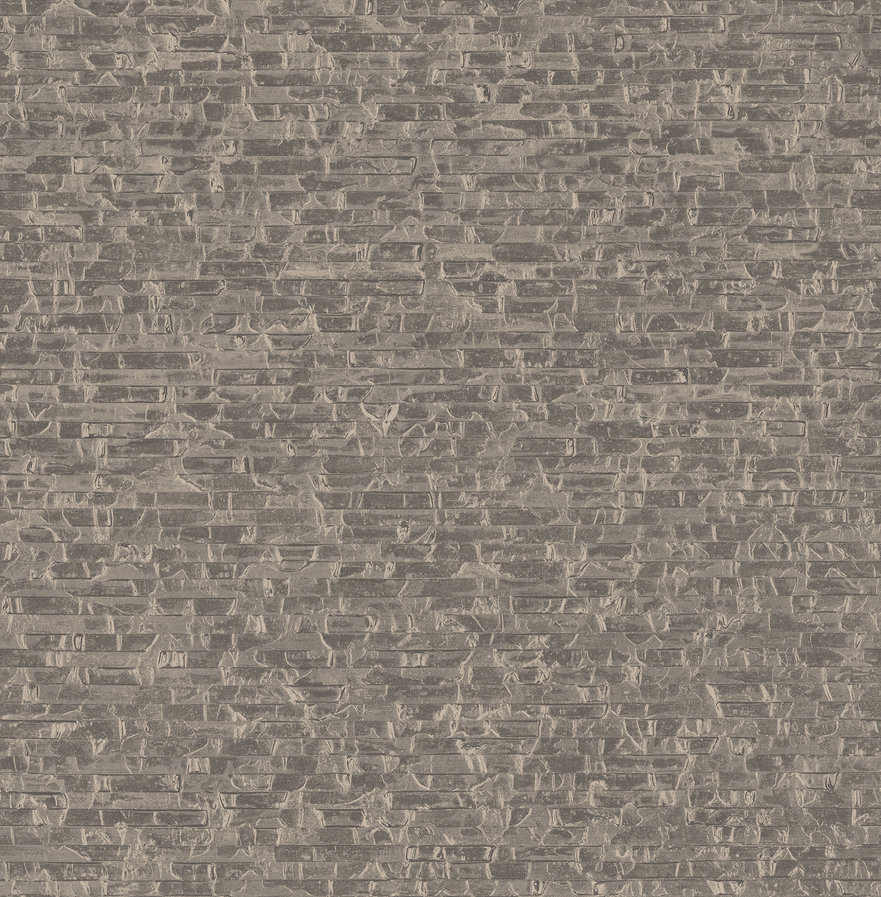 Picture of Belvedere Taupe Faux Slate Wallpaper