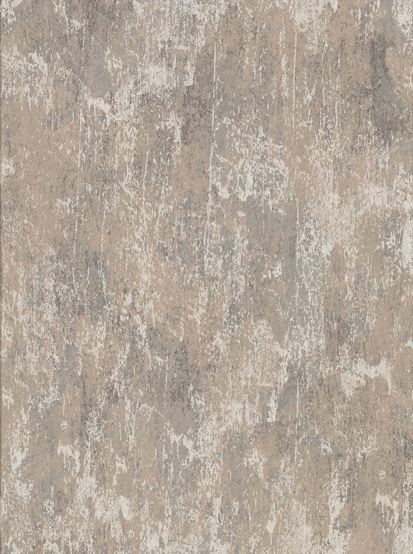Picture of Bovary Taupe Distressed Texture Wallpaper