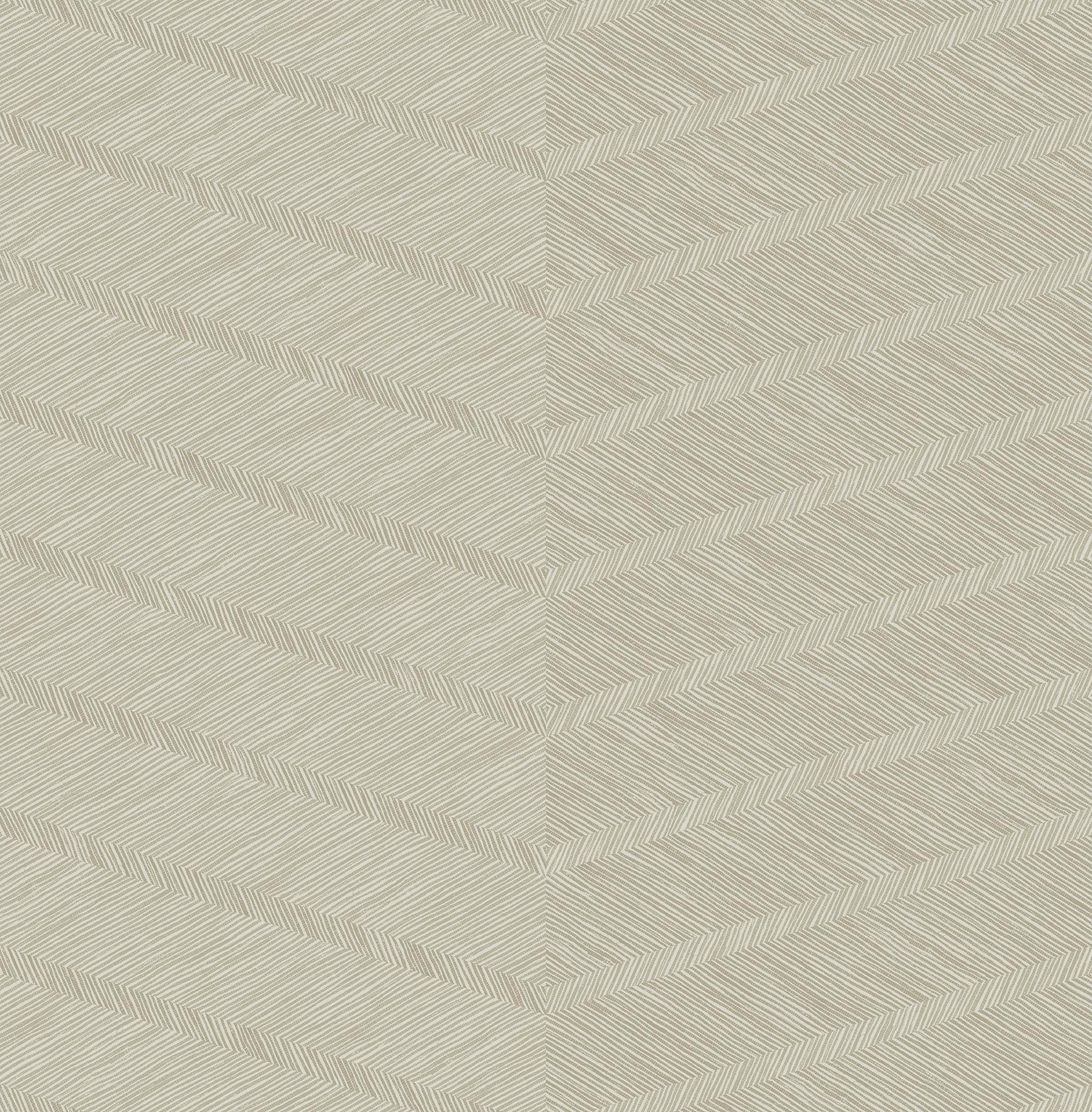 Picture of Aspen Champagne Chevron Wallpaper