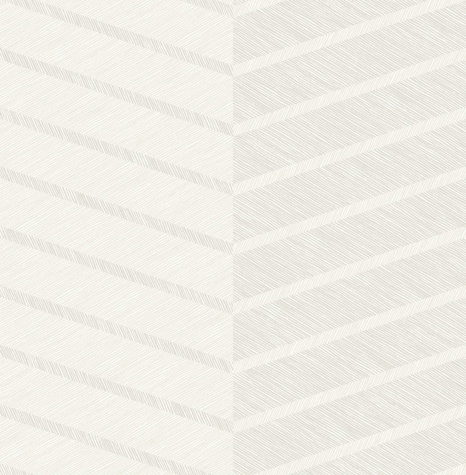 Picture of Aspen White Chevron Wallpaper