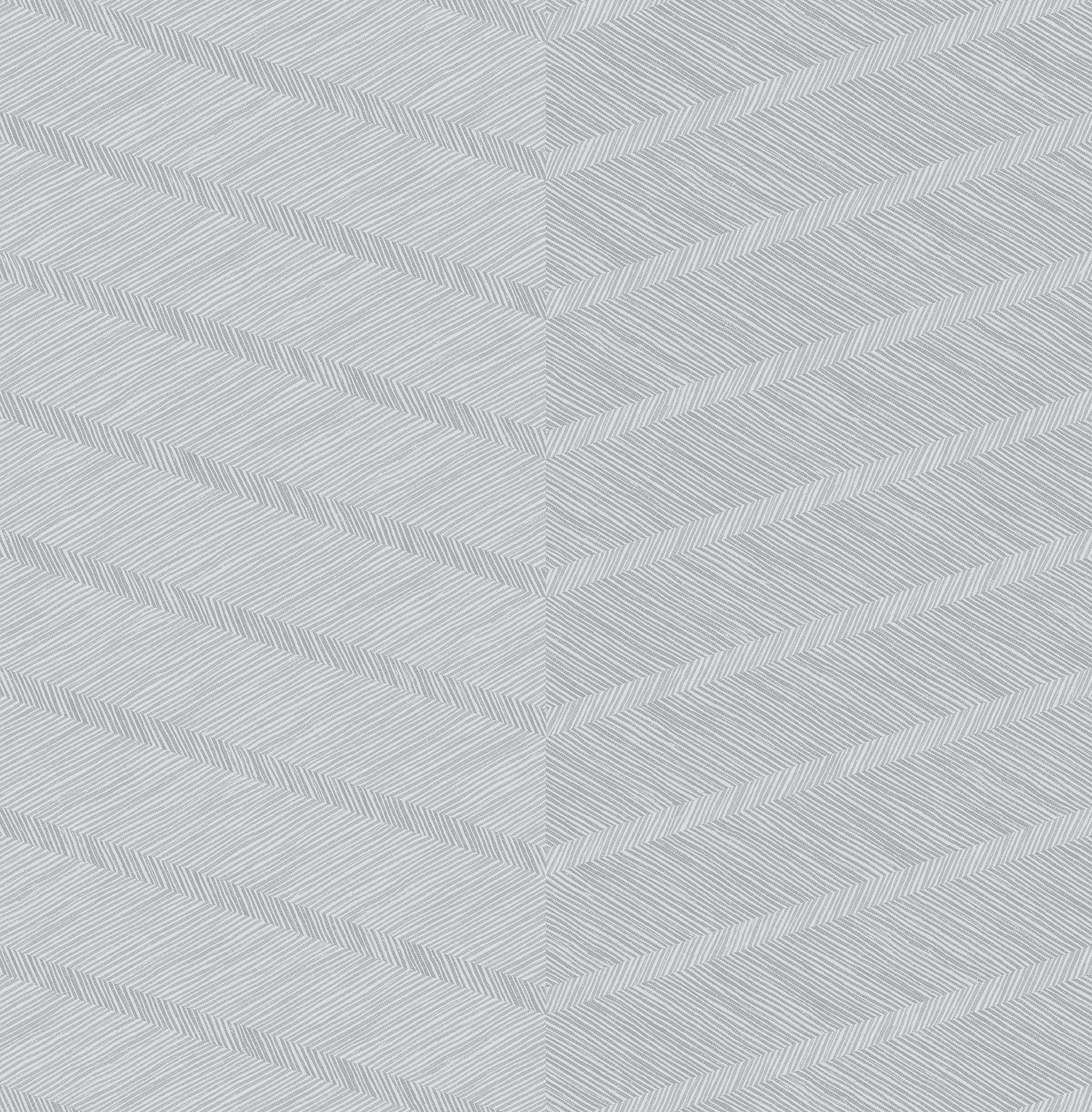 Picture of Aspen Grey Chevron Wallpaper