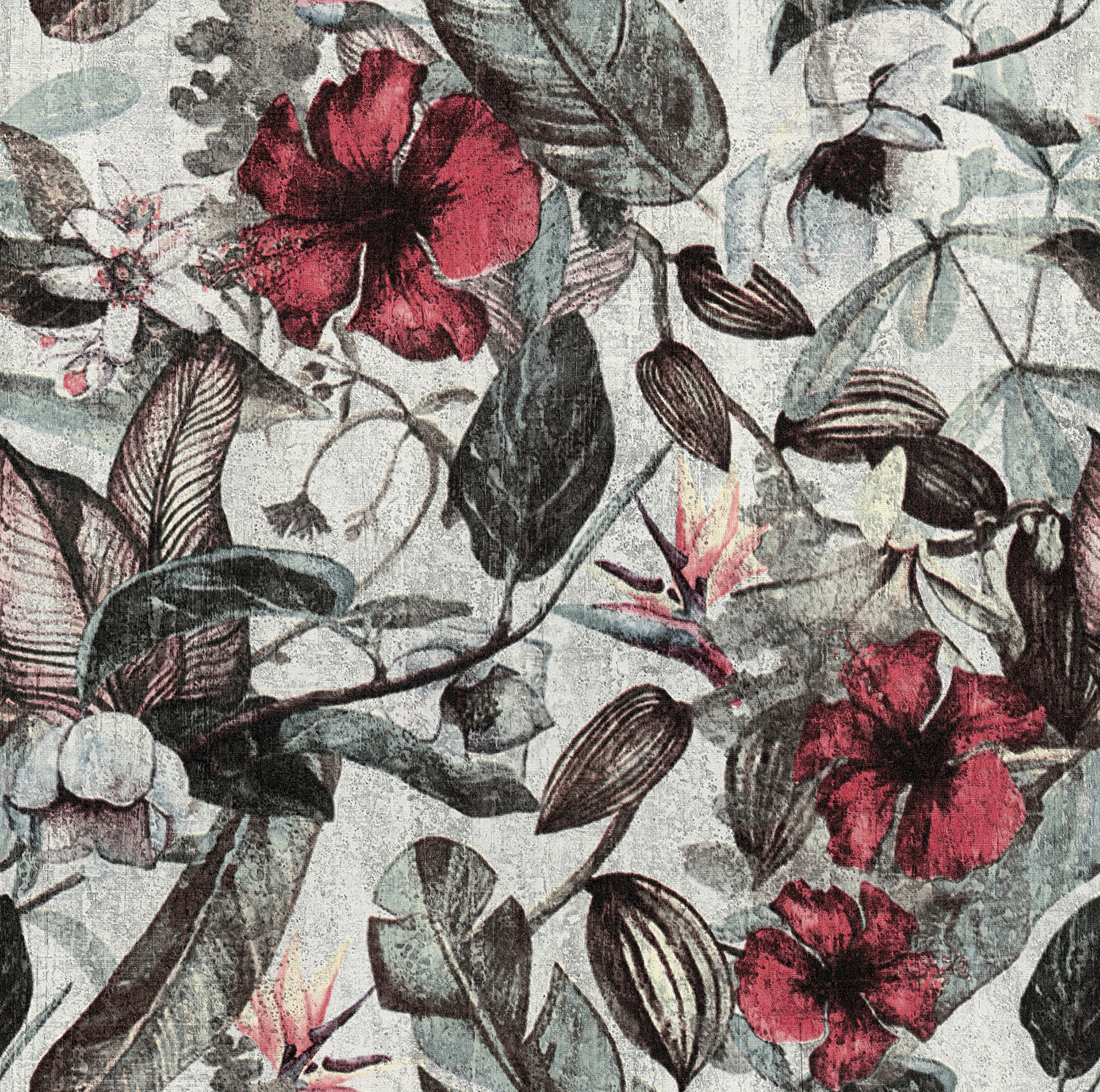 Picture of Kailano Green Botanical Wallpaper