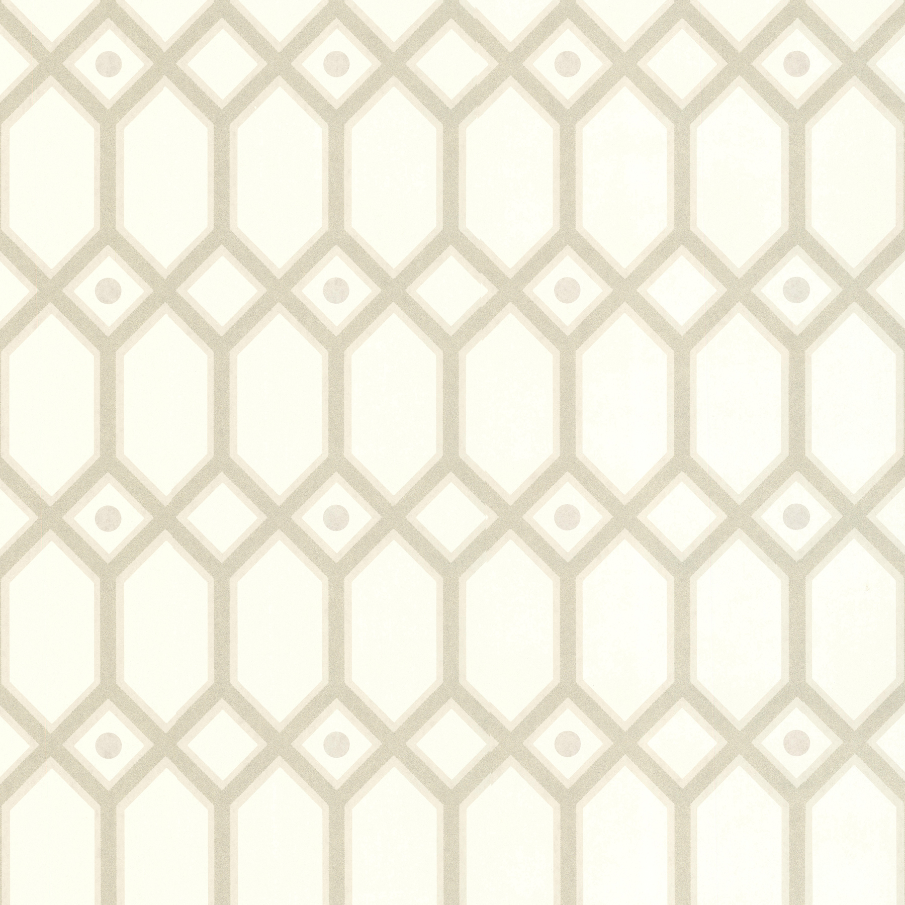 Picture of Beige Ironwork Wallpaper
