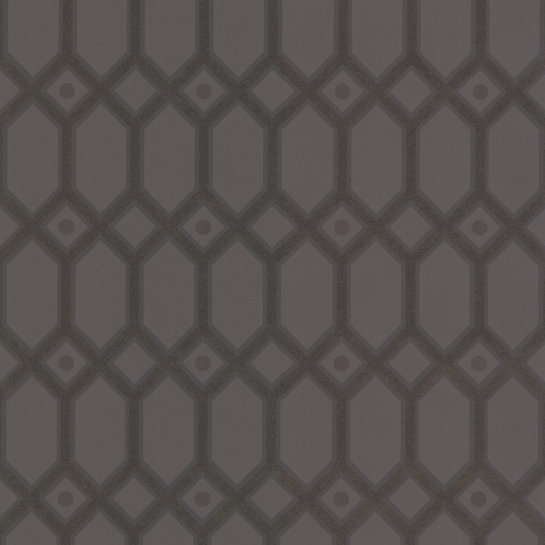 Picture of Brown Ironwork Wallpaper