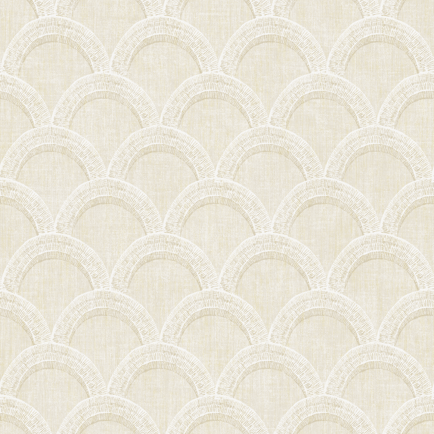 Picture of Bixby Beige Geometric Wallpaper
