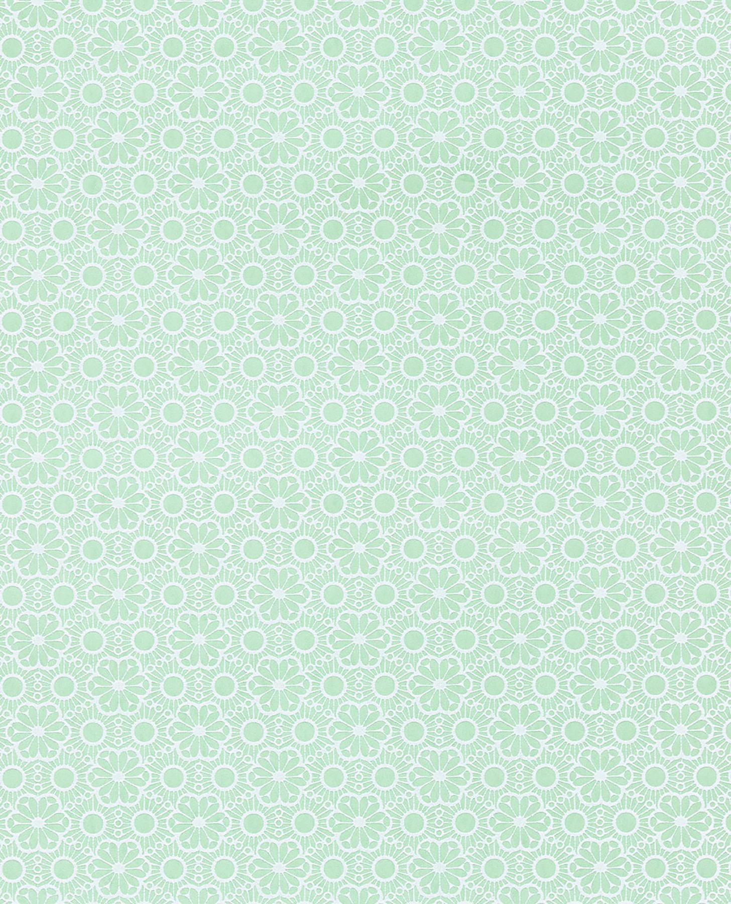 Picture of Arielle Mint Marrakesh Wallpaper