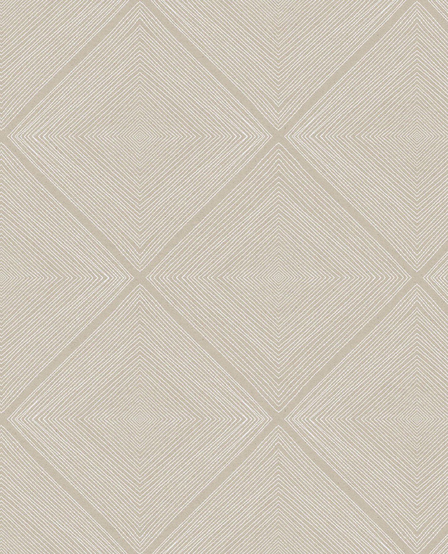 Picture of Aries Taupe Geometric Wallpaper